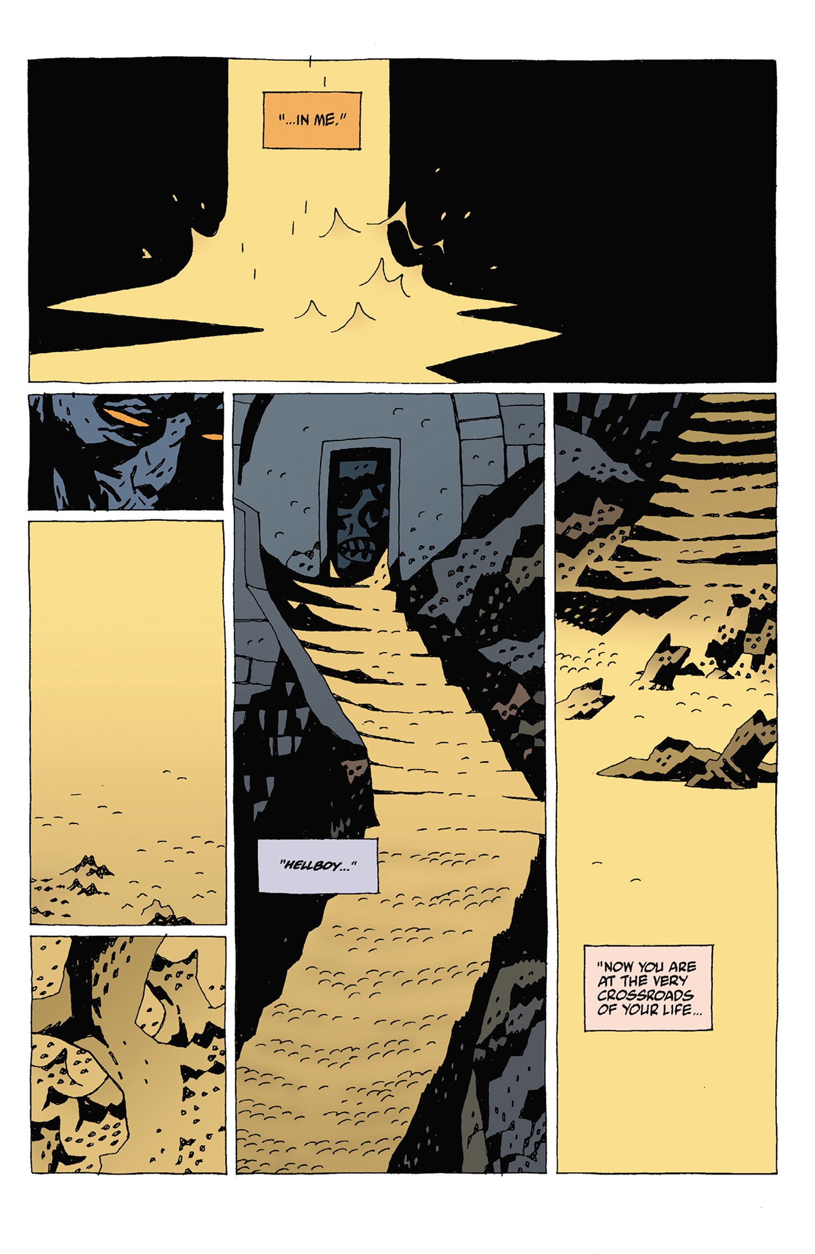 Read online Hellboy: Strange Places comic -  Issue # TPB - 83