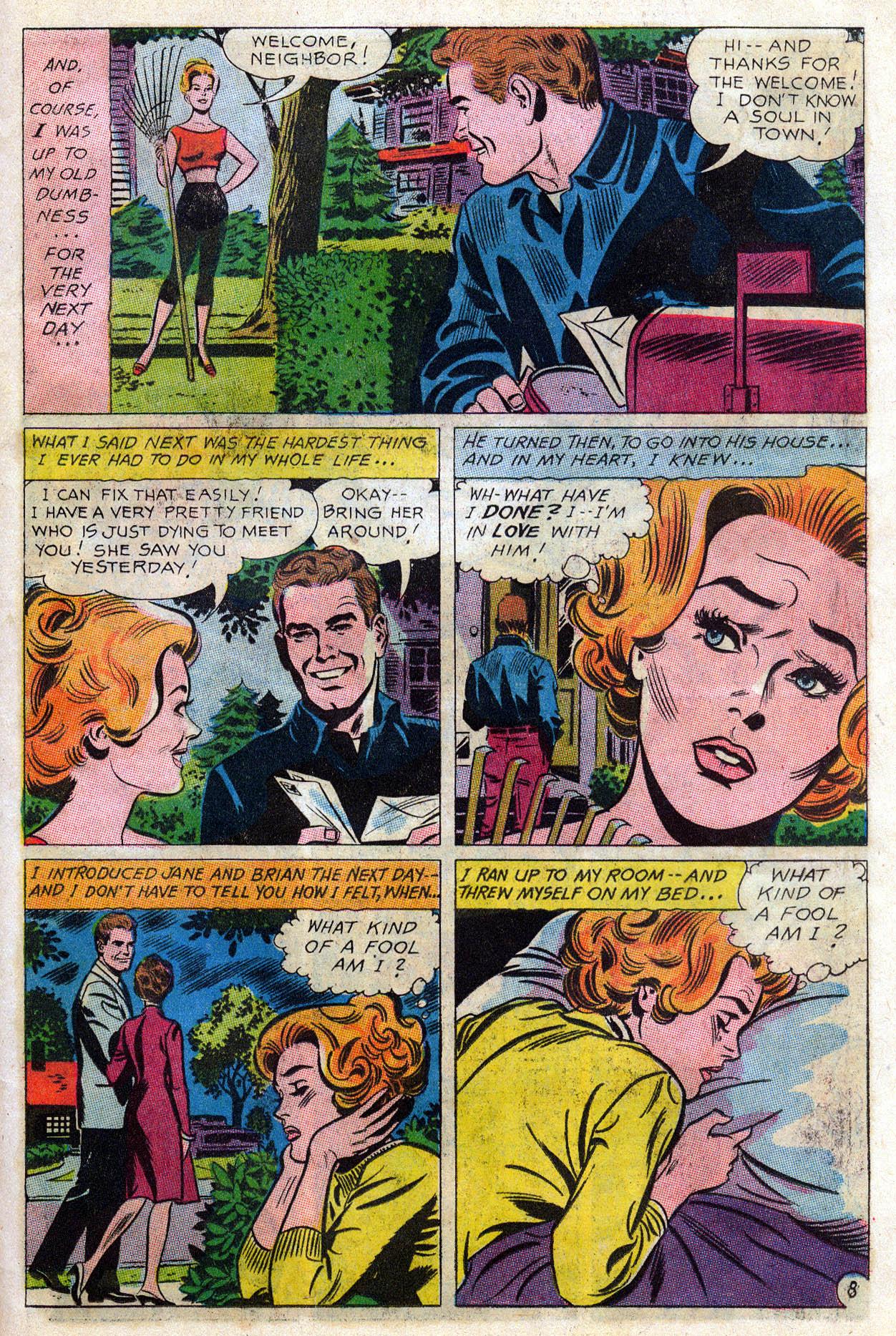 Read online Secret Hearts comic -  Issue #109 - 30