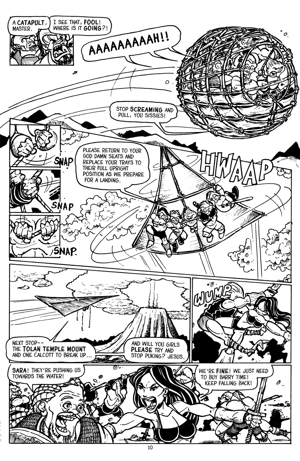 Read online The Adventures of Barry Ween, Boy Genius 3: Monkey Tales comic -  Issue #6 - 12