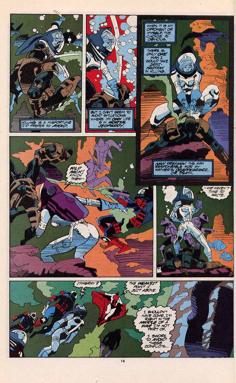 Read online Silver Sable and the Wild Pack comic -  Issue #11 - 11