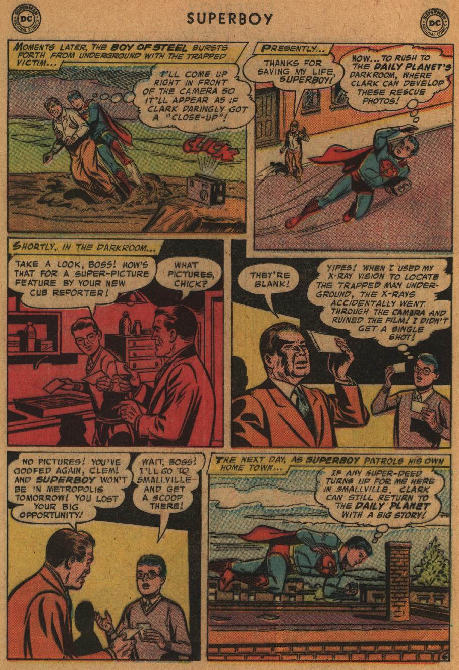 Superboy (1949) issue 63 - Page 16