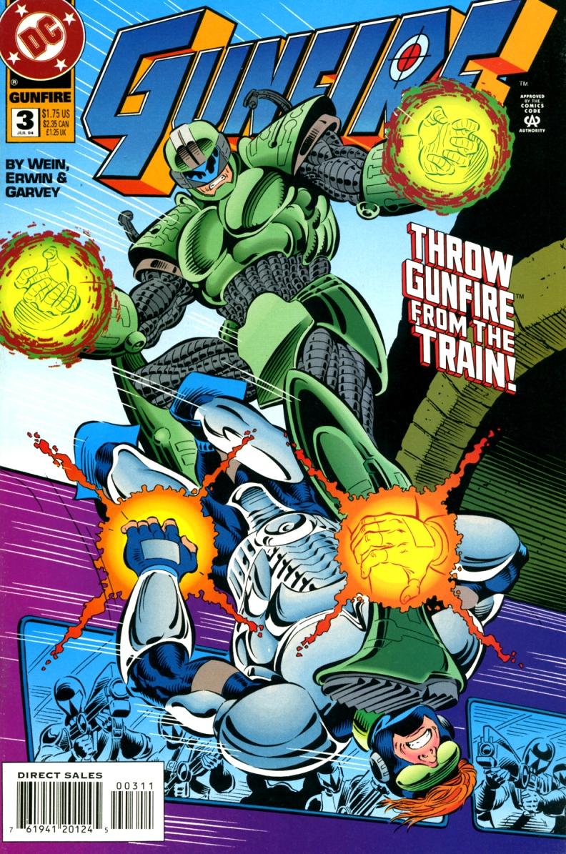 Read online Gunfire comic -  Issue #3 - 1