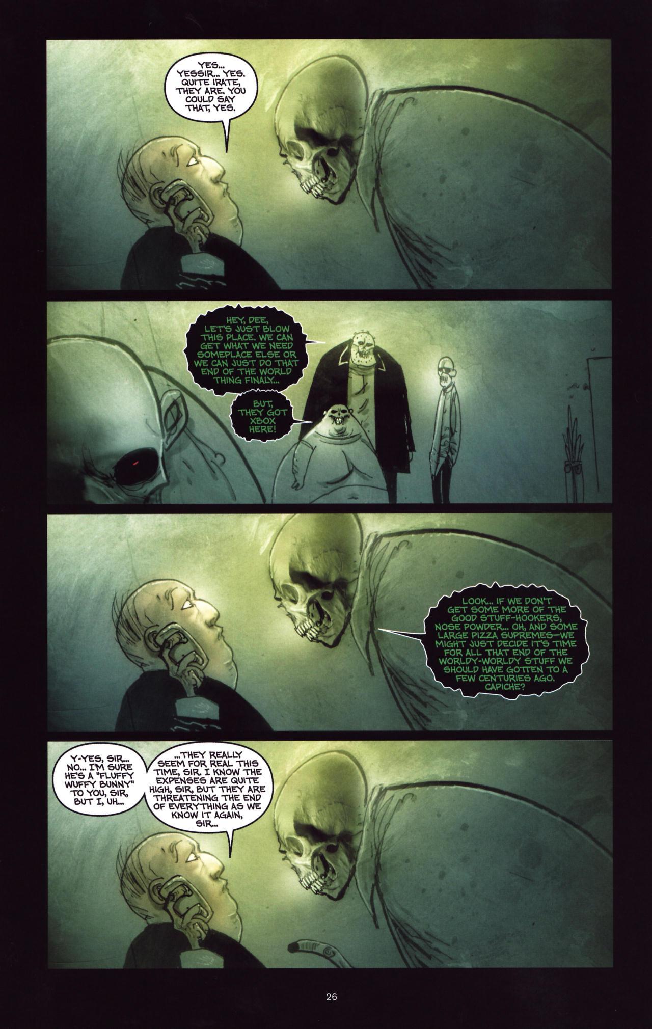 Read online Wormwood: Gentleman Corpse comic -  Issue #8 - 27