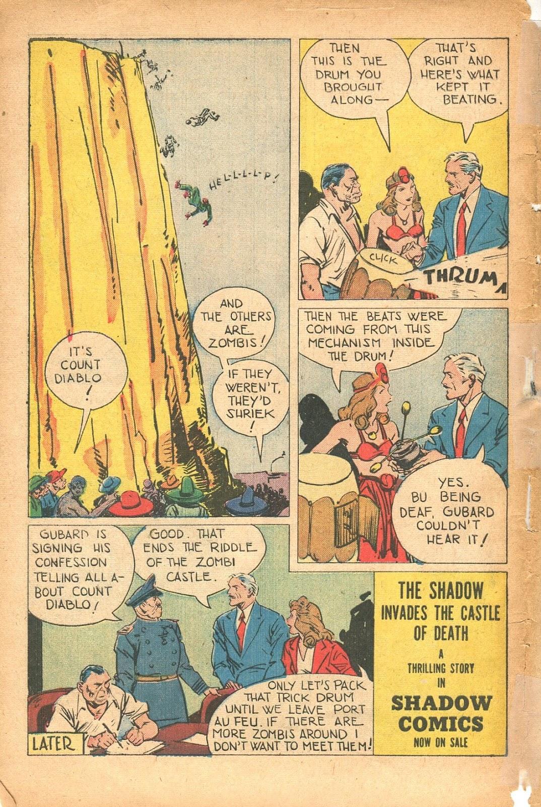 Read online Super-Magician Comics comic -  Issue #35 - 50