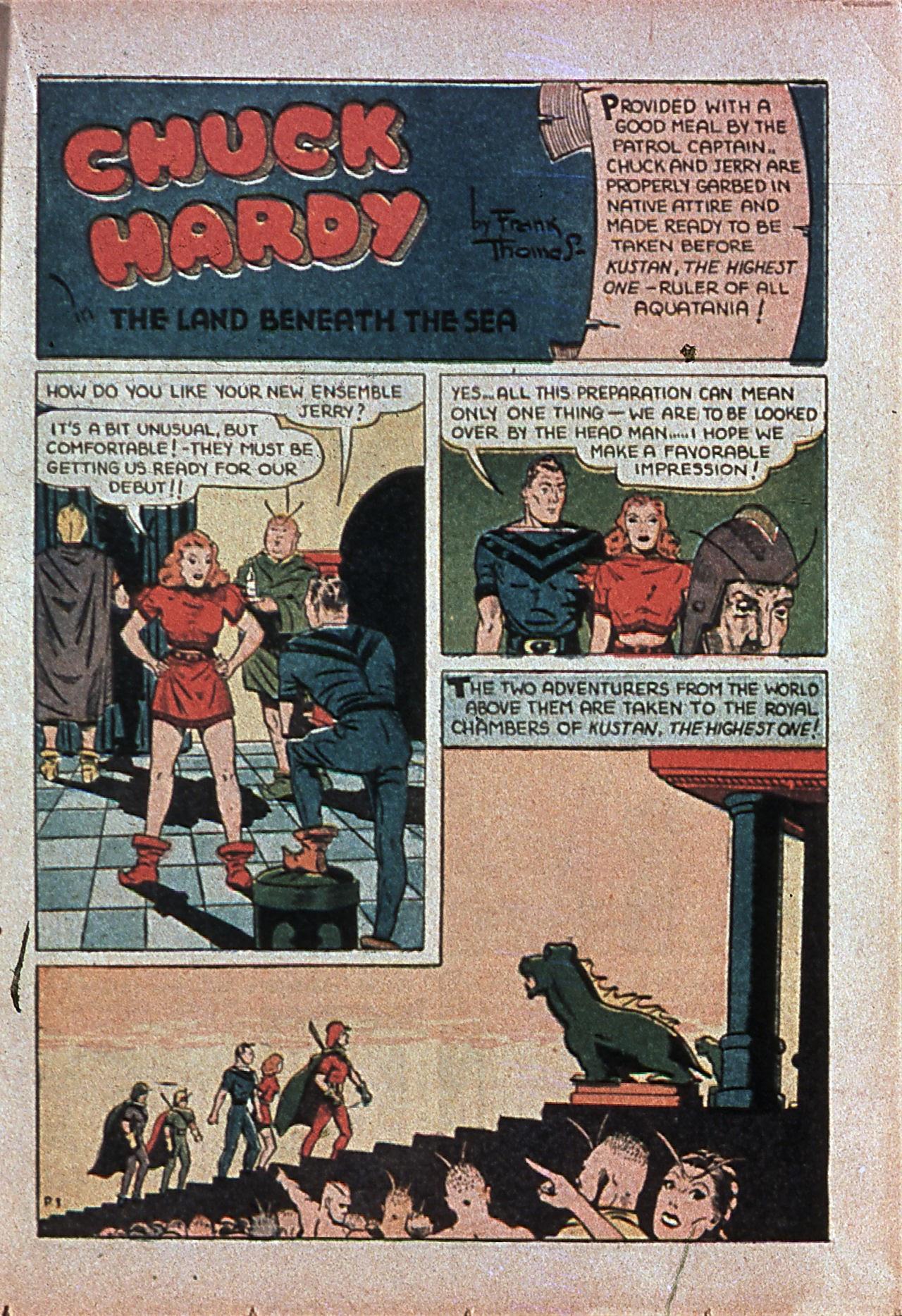 Read online Amazing Man Comics comic -  Issue #7 - 46