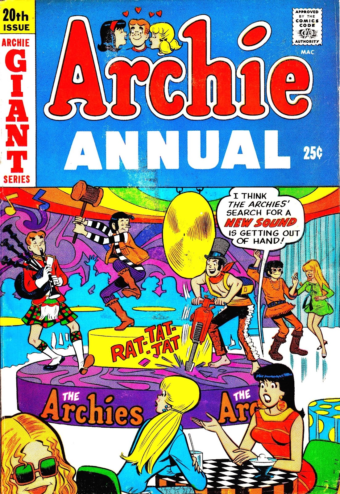 Archie Annual issue 20 - Page 1