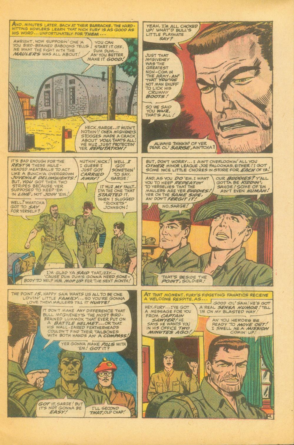 Read online Sgt. Fury comic -  Issue #99 - 7