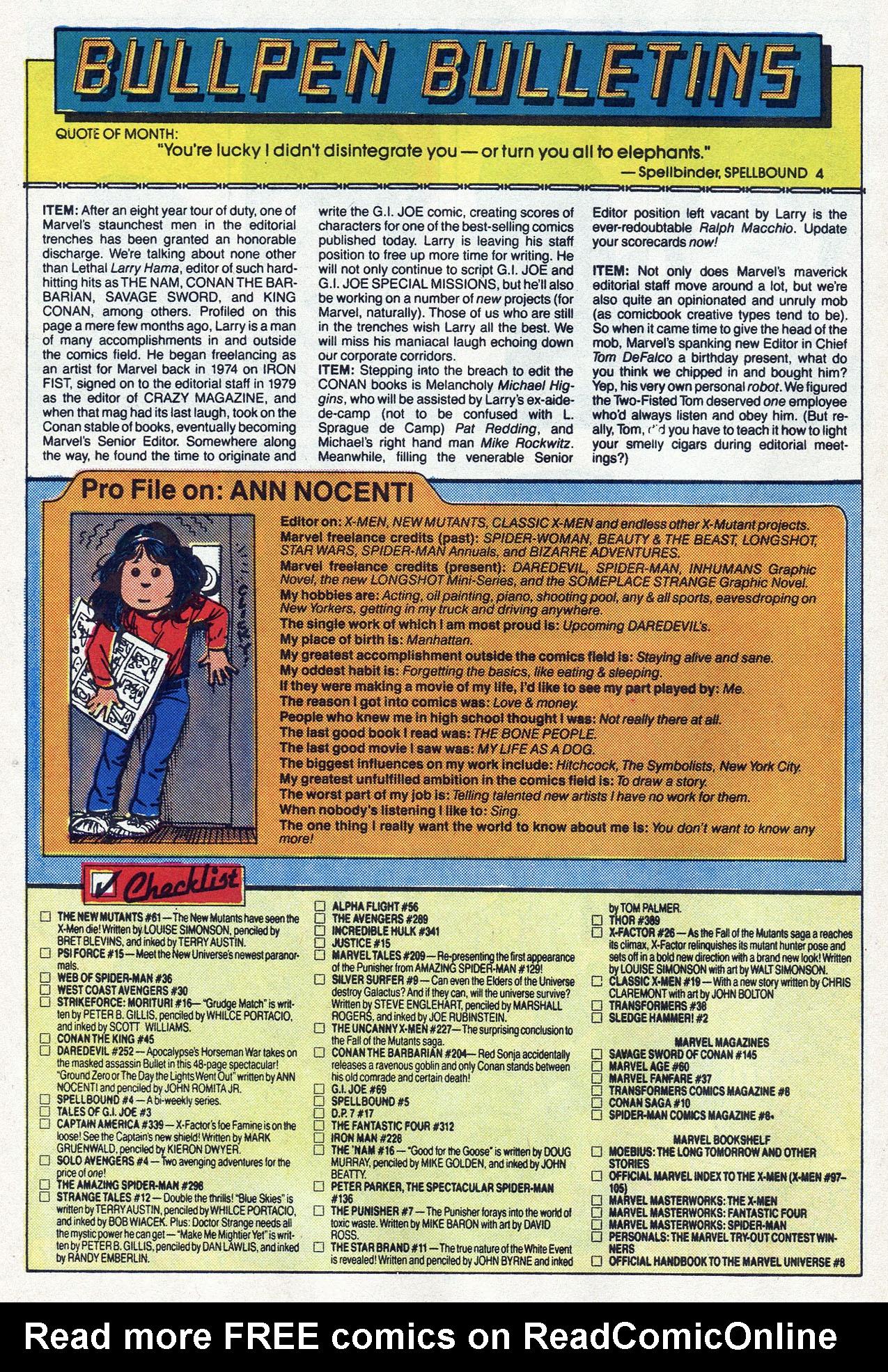 Read online Alpha Flight (1983) comic -  Issue #54 - 27