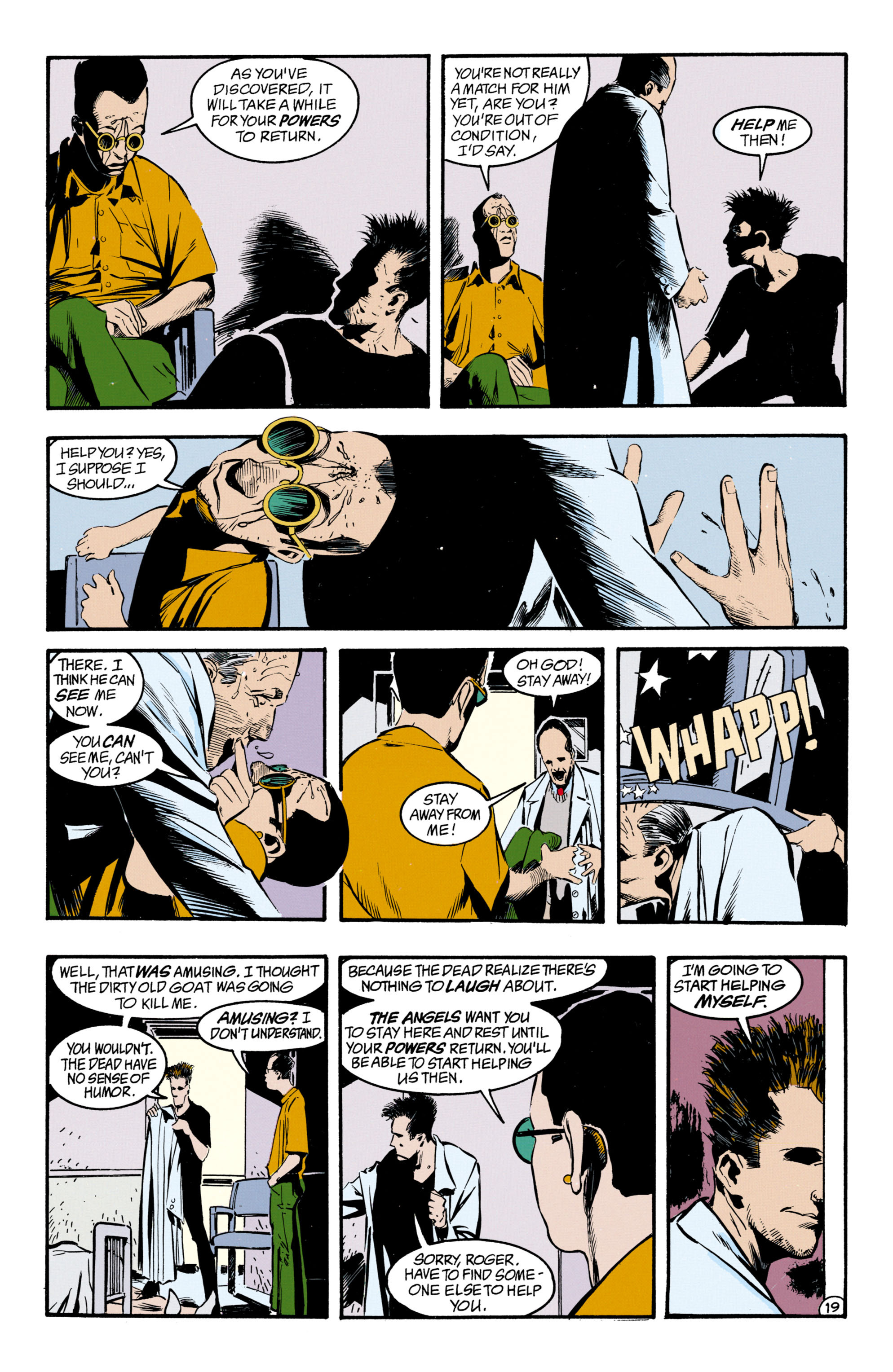 Read online Shade, the Changing Man comic -  Issue #33 - 20
