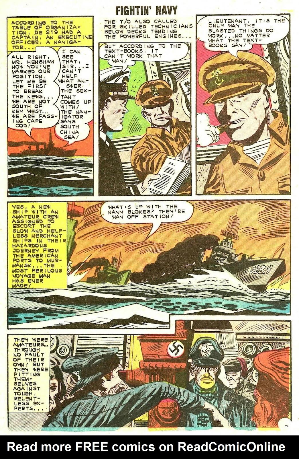 Read online Fightin' Navy comic -  Issue #110 - 33