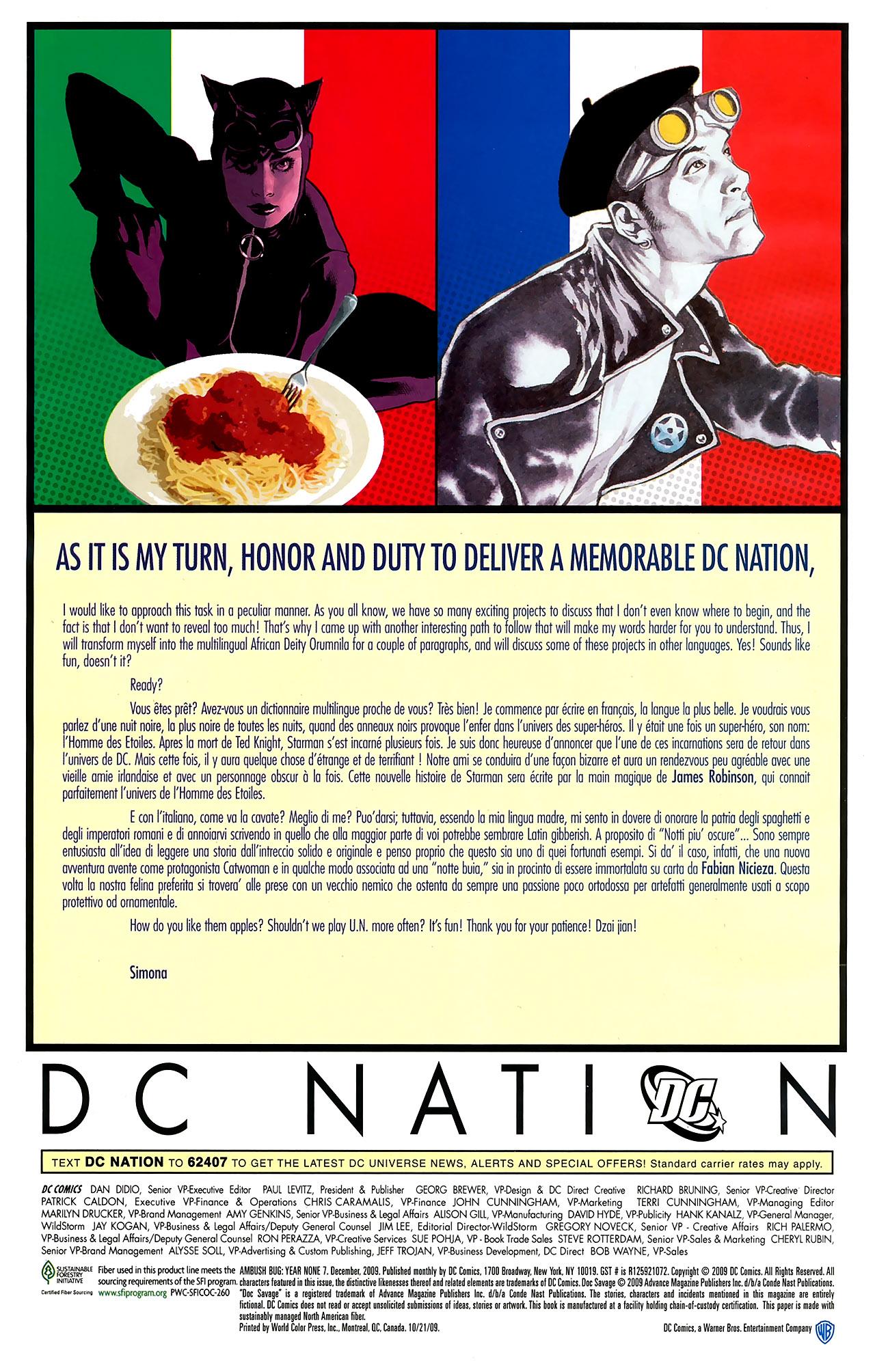 Read online Ambush Bug: Year None comic -  Issue #7 - 24