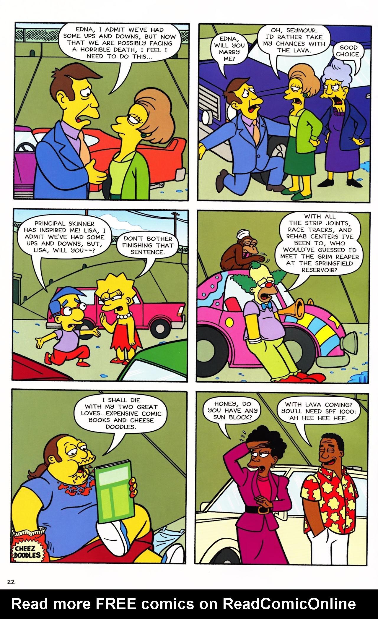 Read online Simpsons Comics comic -  Issue #152 - 19