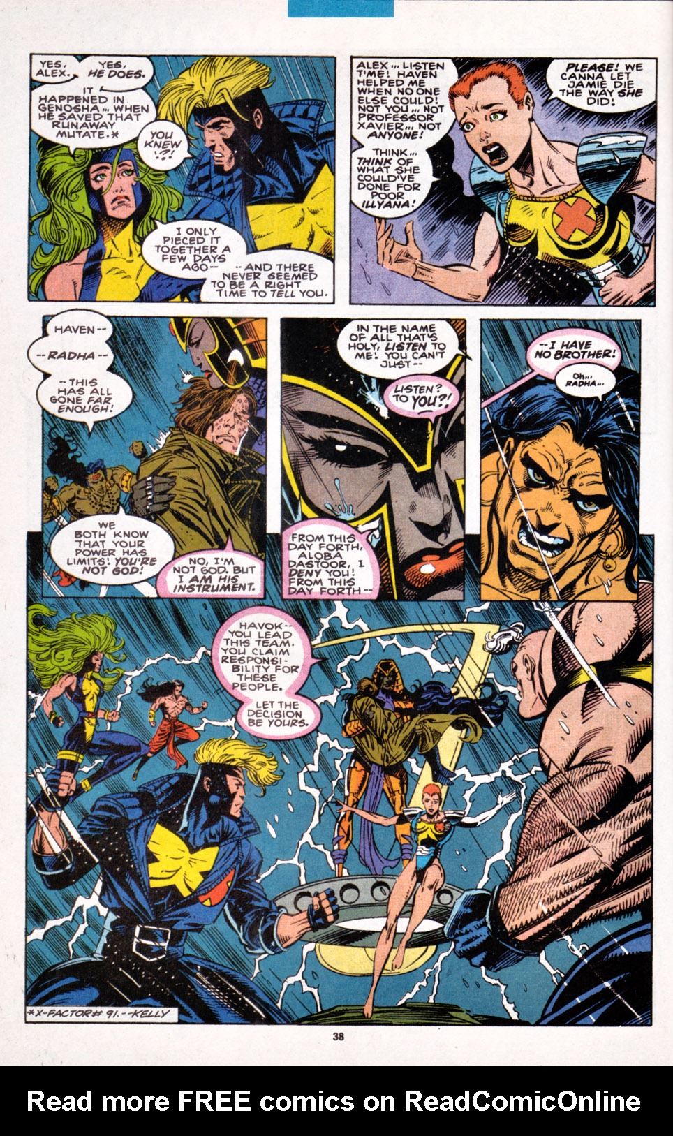Read online X-Factor (1986) comic -  Issue #100 - 31
