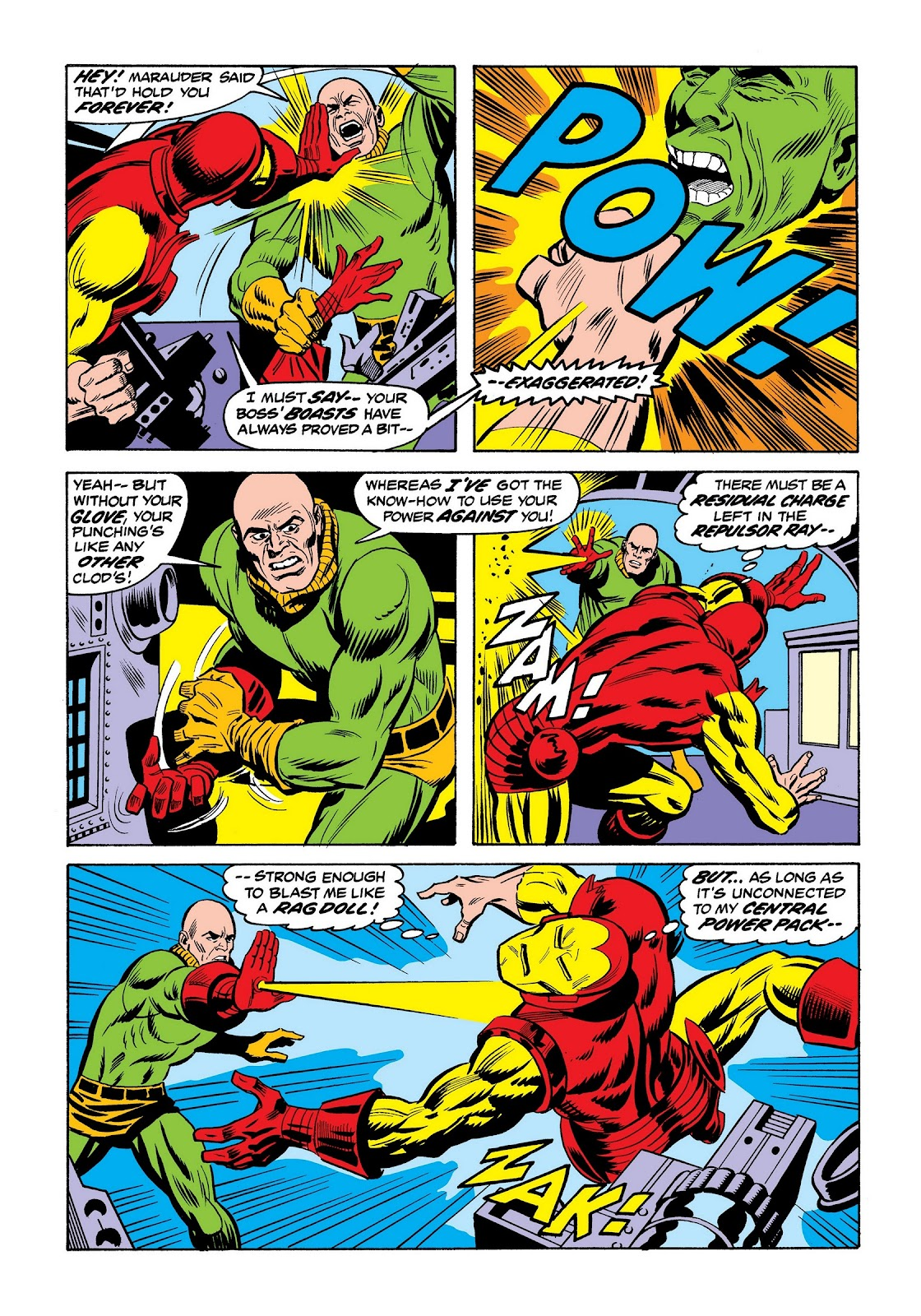 Read online Marvel Masterworks: The Invincible Iron Man comic -  Issue # TPB 9 (Part 2) - 60