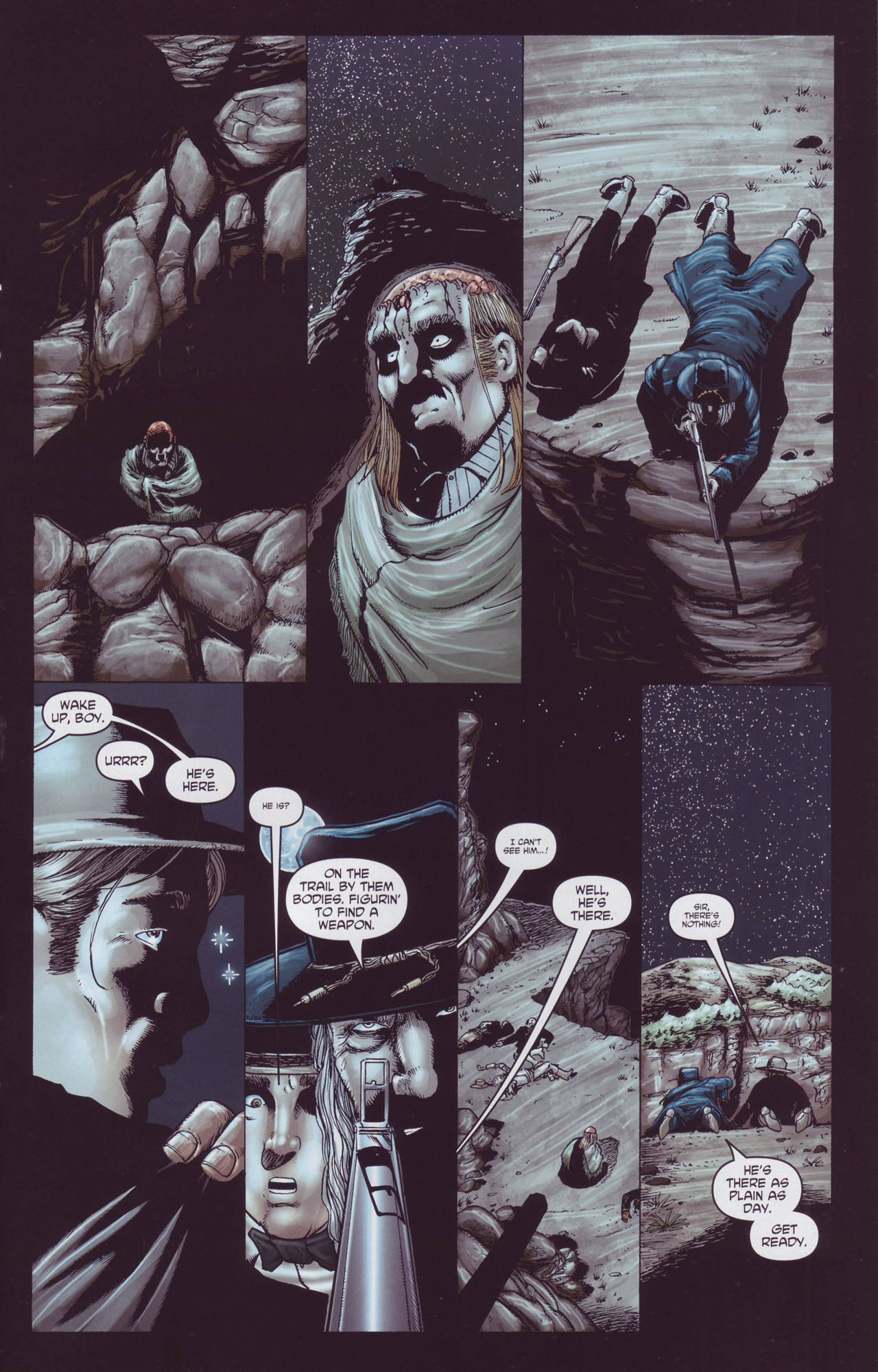 Read online Garth Ennis' Streets of Glory comic -  Issue #4 - 13