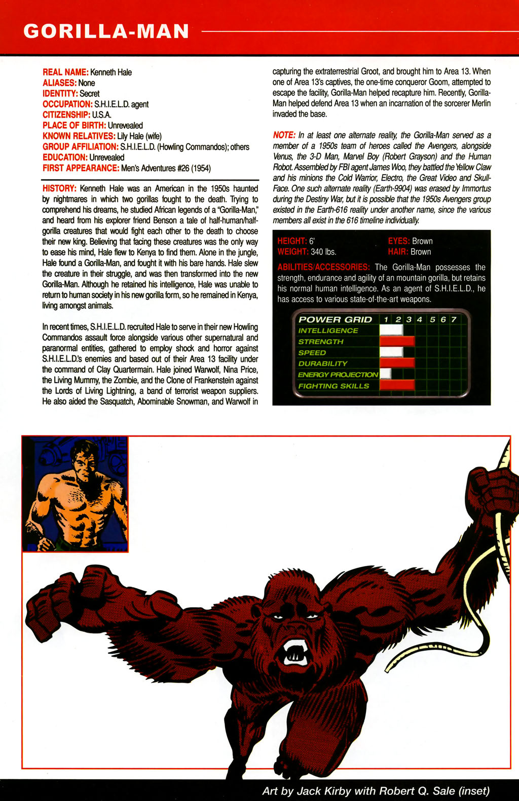 Read online All-New Official Handbook of the Marvel Universe A to Z comic -  Issue #5 - 4