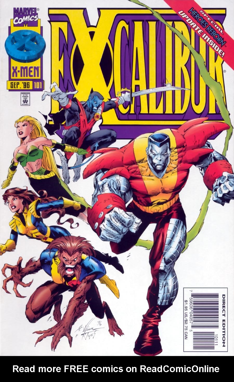 Excalibur (1988) issue 101 - Page 1