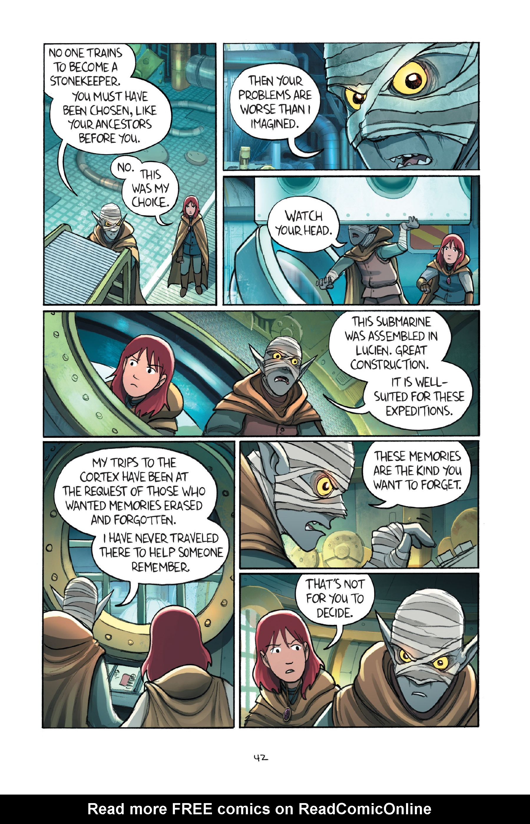 Read online Amulet comic -  Issue #7 - 45