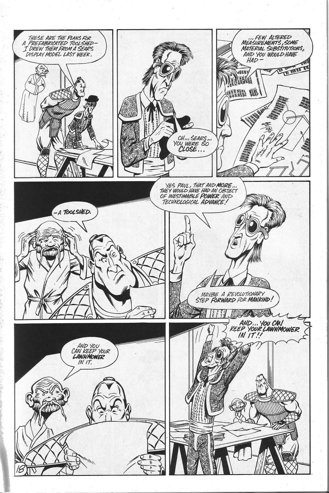 Read online Paul the Samurai (1991) comic -  Issue # TPB - 84