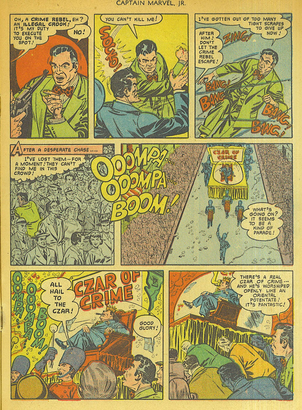 Captain Marvel, Jr. issue 96 - Page 9