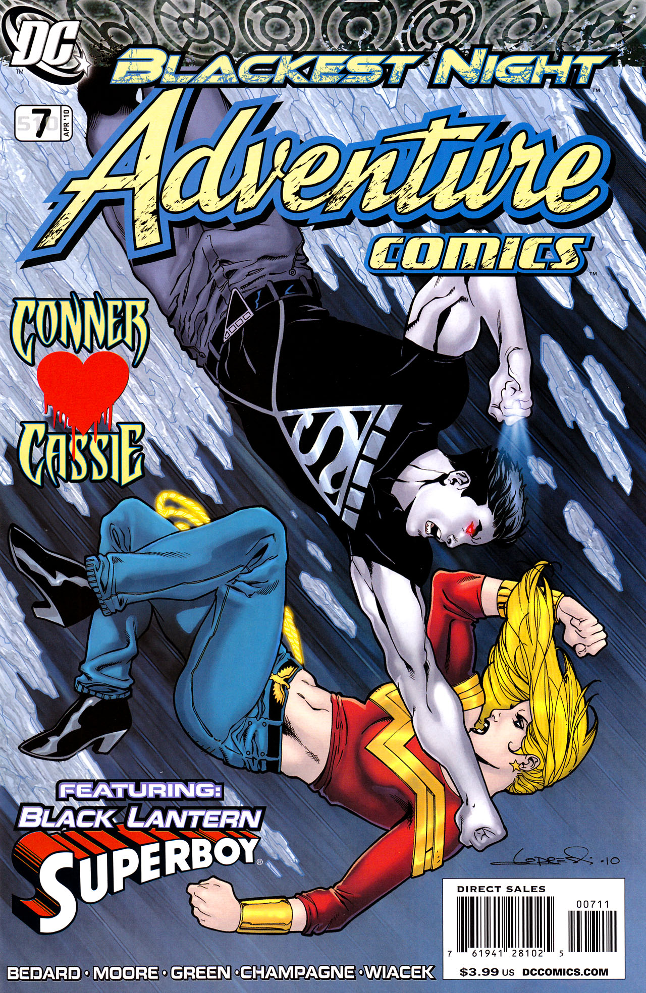 Read online Adventure Comics (2009) comic -  Issue #7 - 1