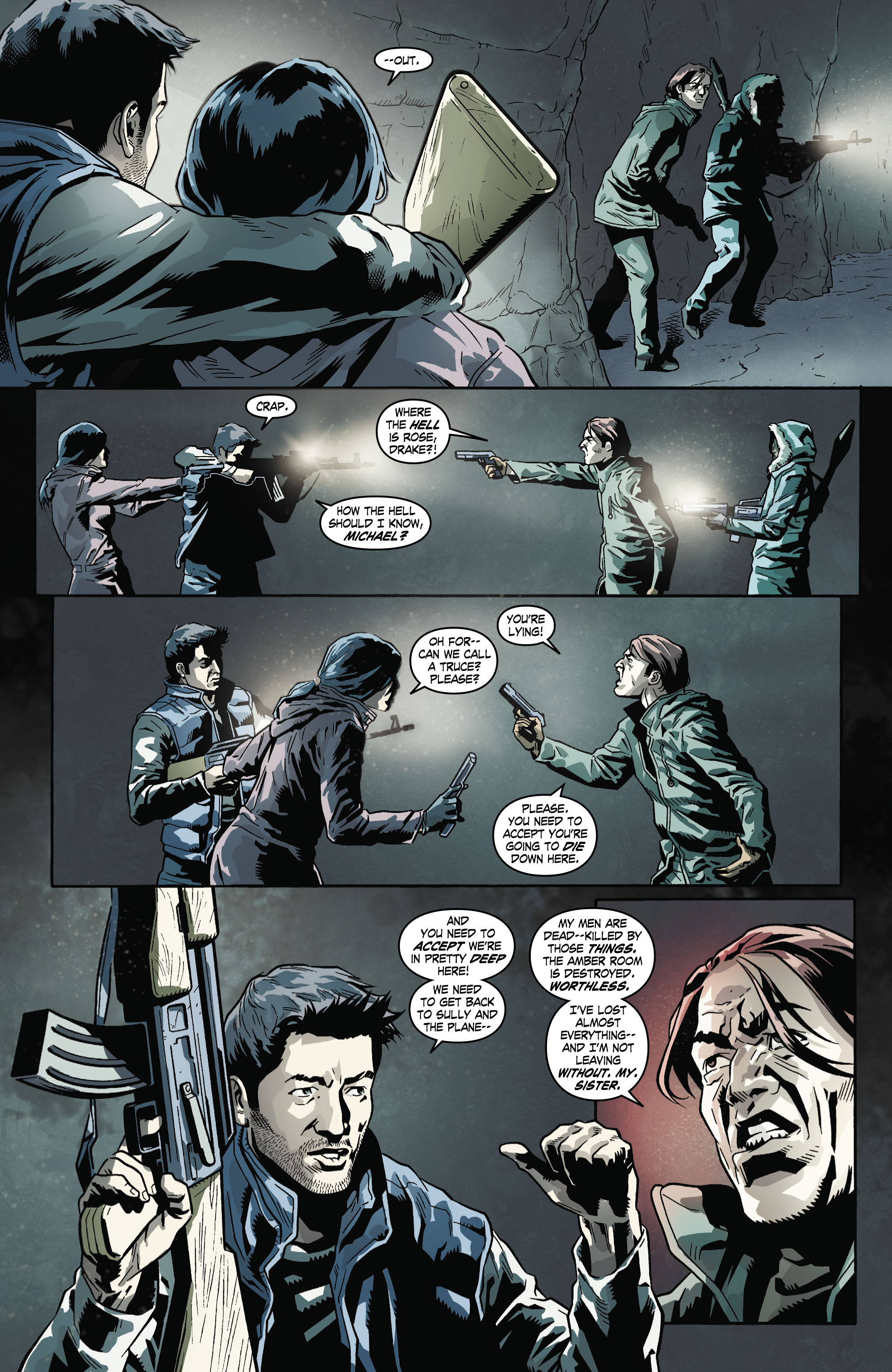 Read online Uncharted comic -  Issue #5 - 6