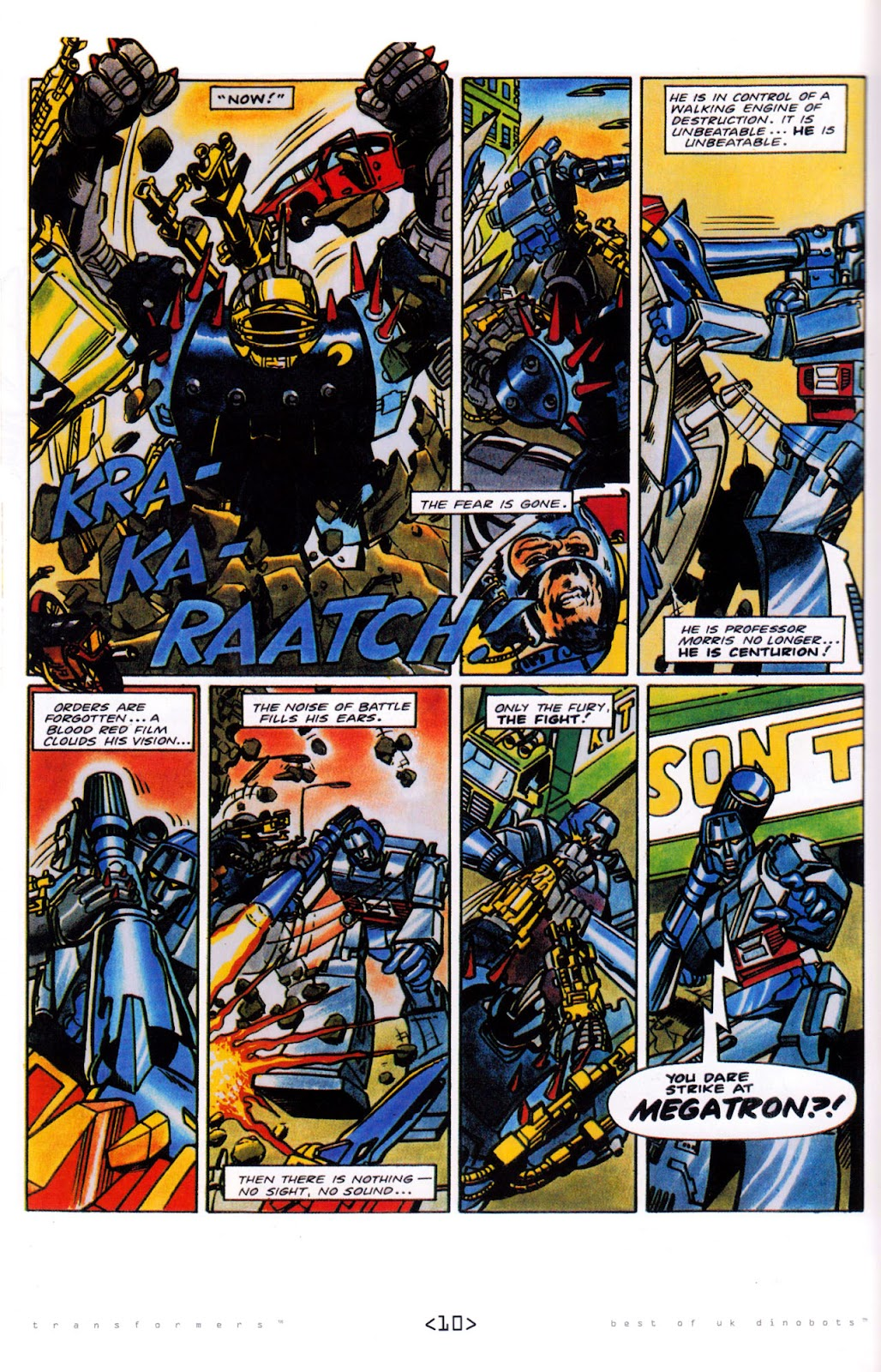 Read online The Transformers: Best of UK: Dinobots comic -  Issue #5 - 12