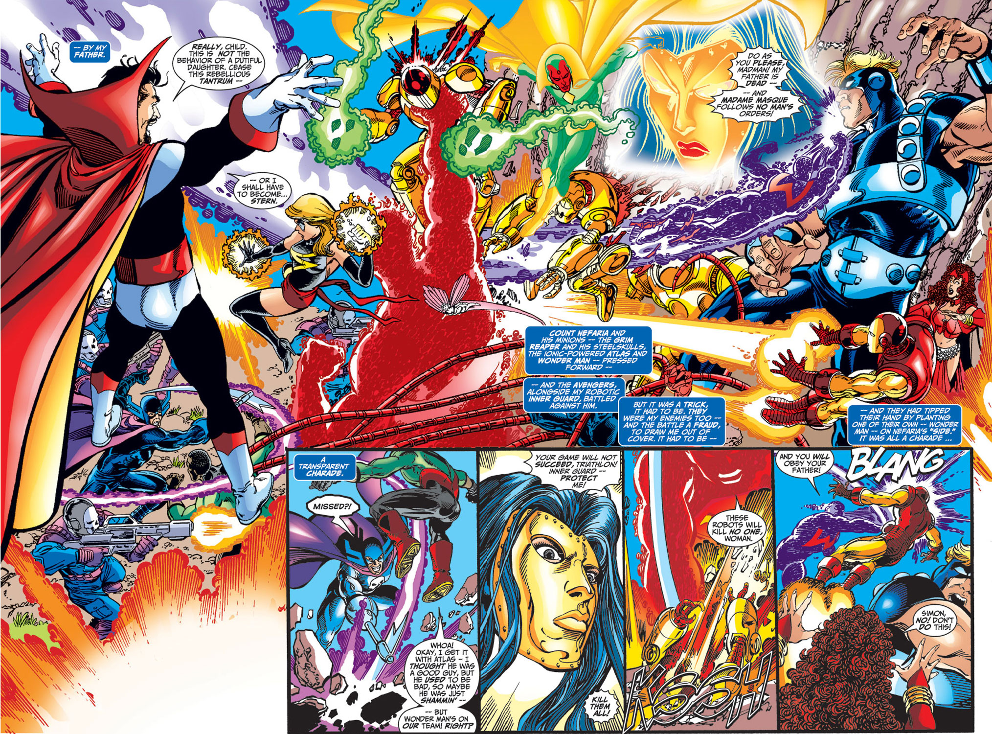 Read online Avengers (1998) comic -  Issue #33 - 3