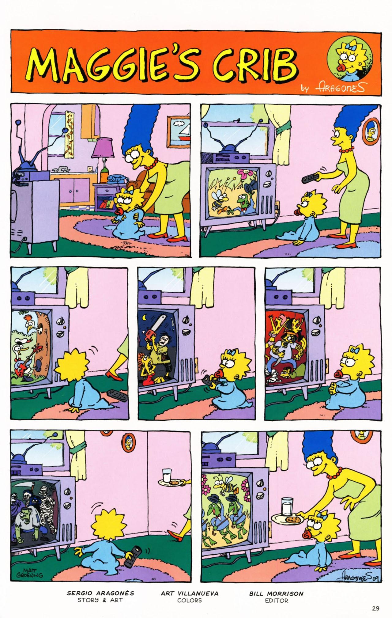 Read online Simpsons Comics Presents Bart Simpson comic -  Issue #53 - 32