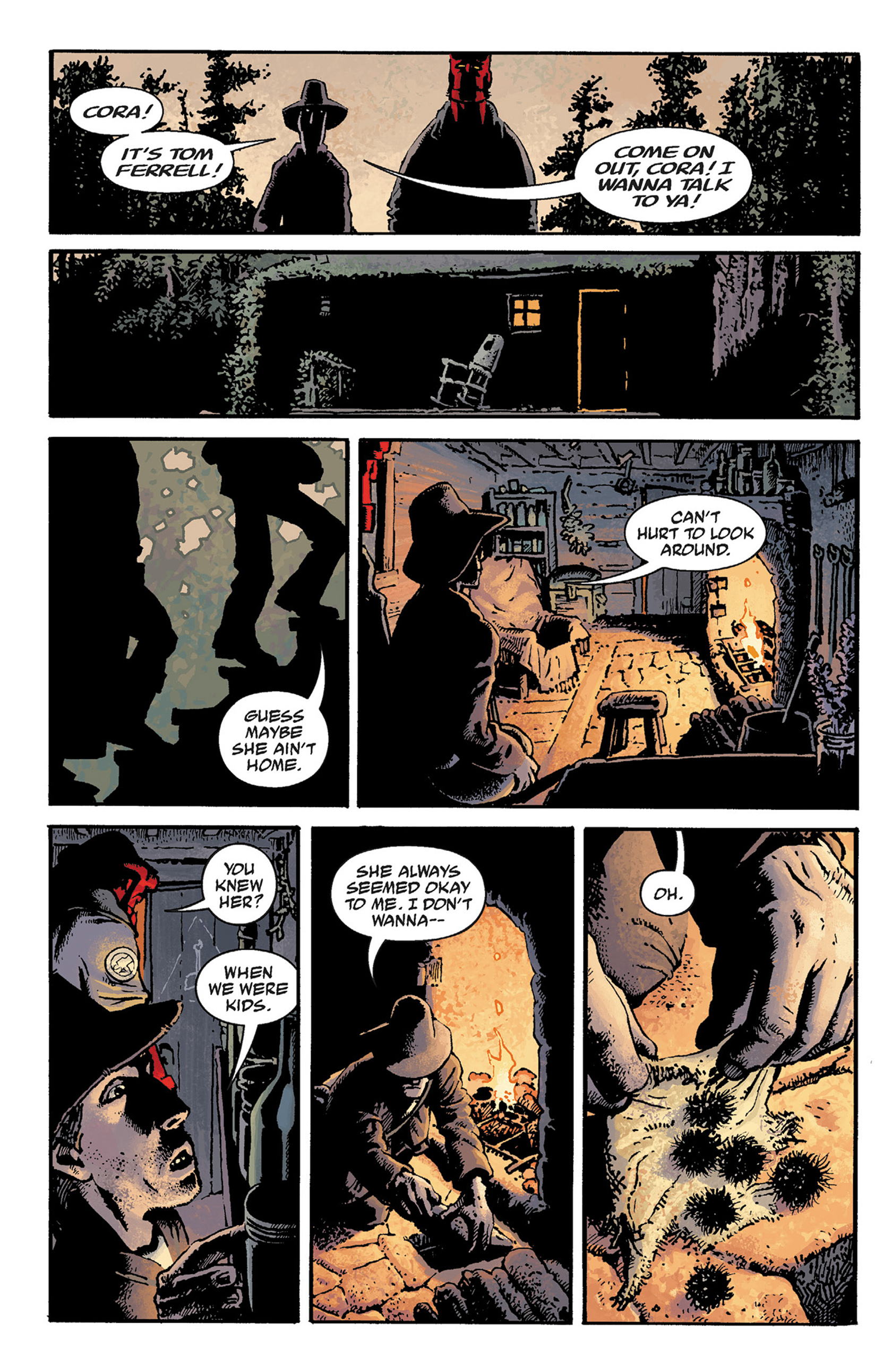 Read online Hellboy: The Crooked Man and Others comic -  Issue # TPB - 16