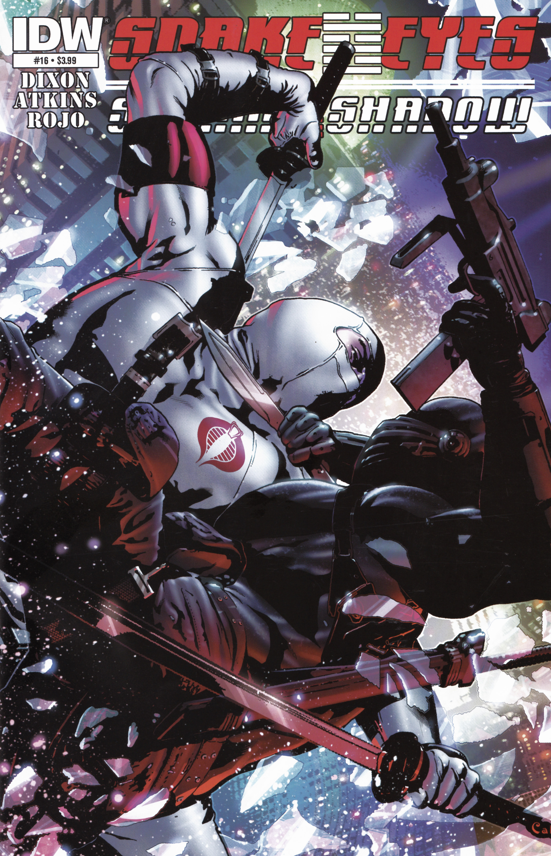 Read online Snake Eyes and Storm Shadow comic -  Issue #16 - 1