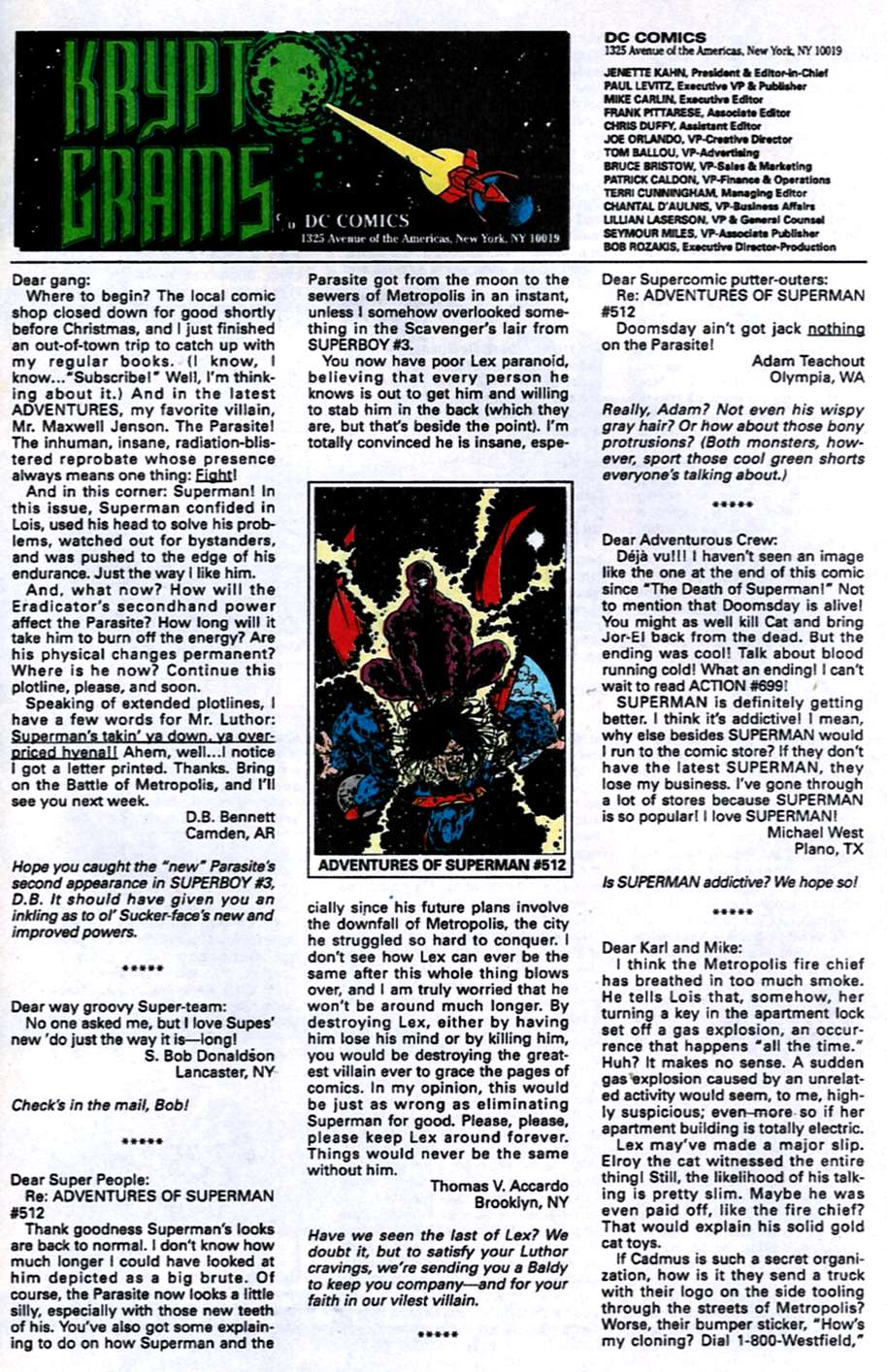 Read online Adventures of Superman (1987) comic -  Issue #516 - 22