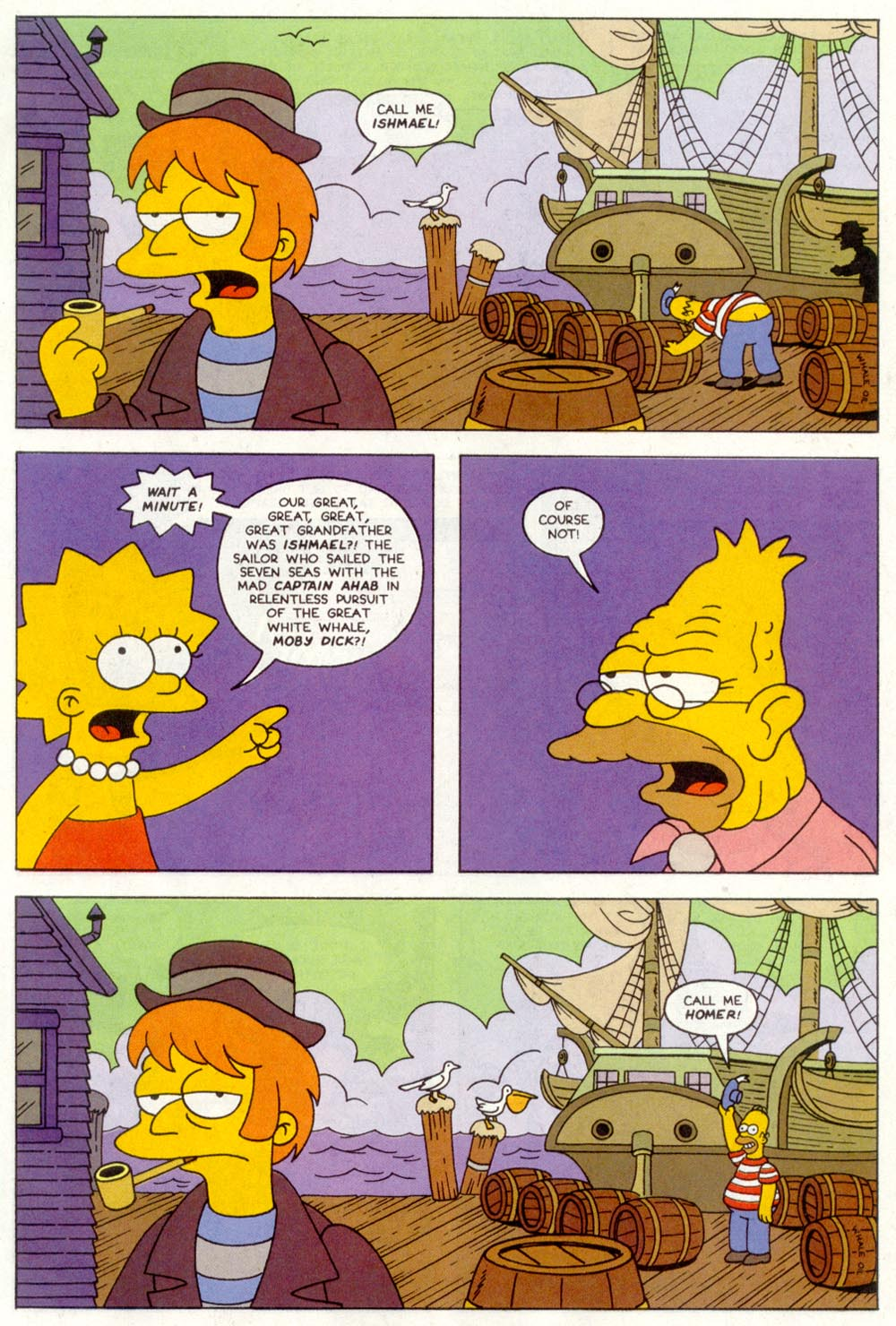 Read online Treehouse of Horror comic -  Issue #1 - 23