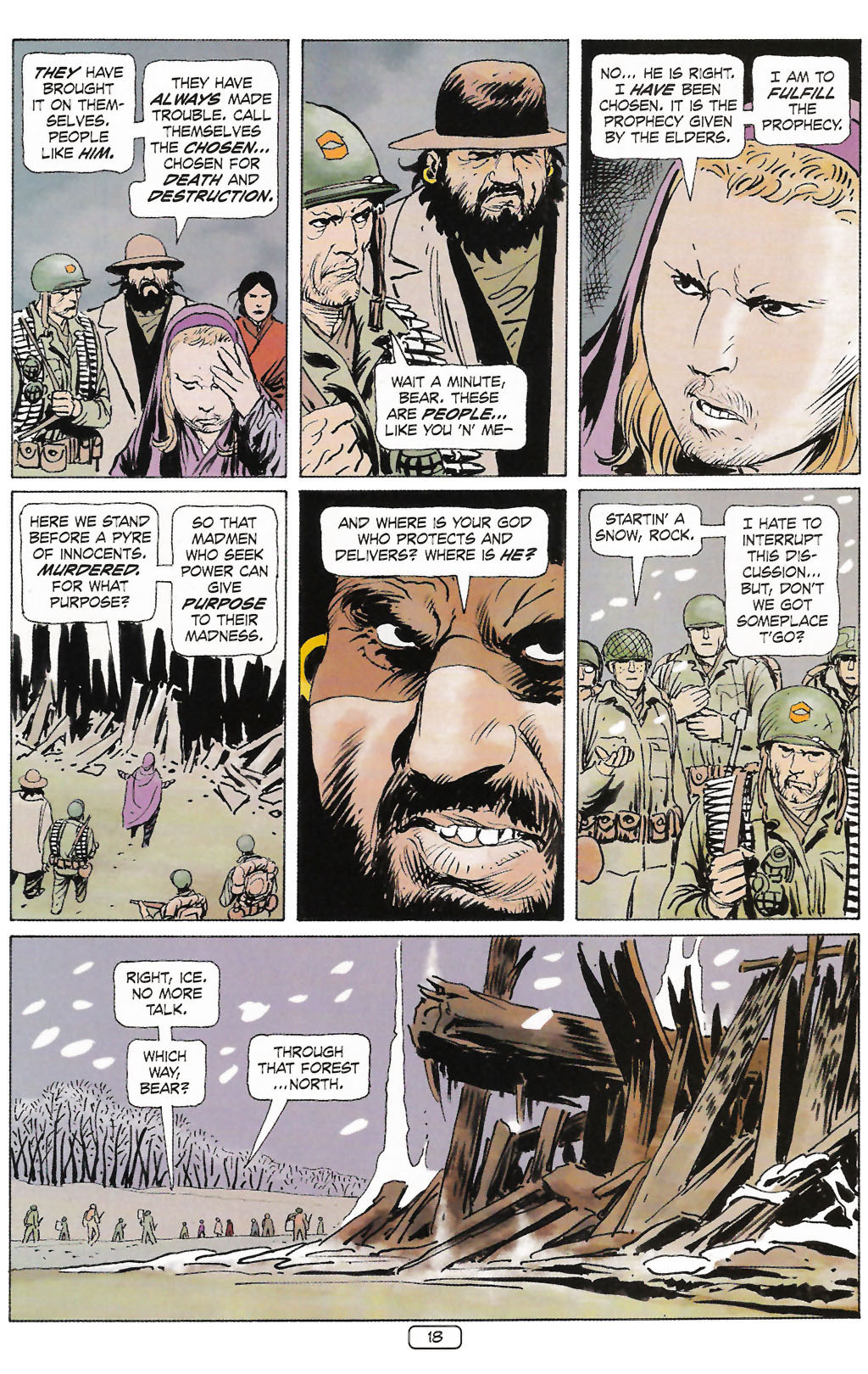 Read online Sgt. Rock: The Prophecy comic -  Issue #2 - 19
