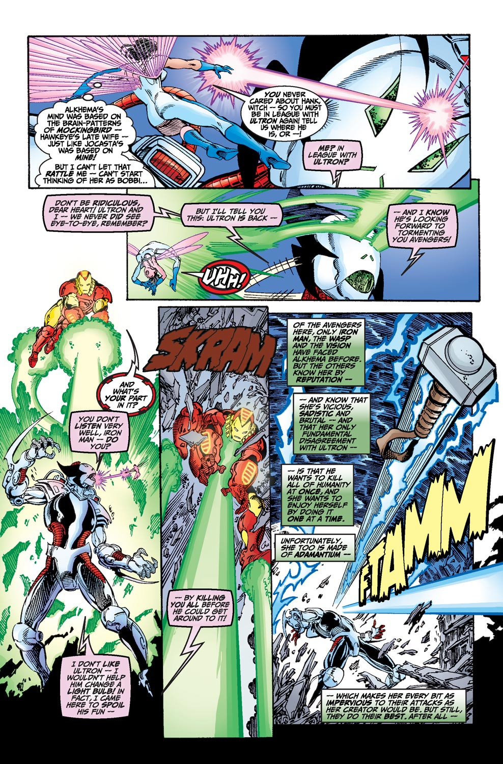 Read online Avengers (1998) comic -  Issue #19 - 16