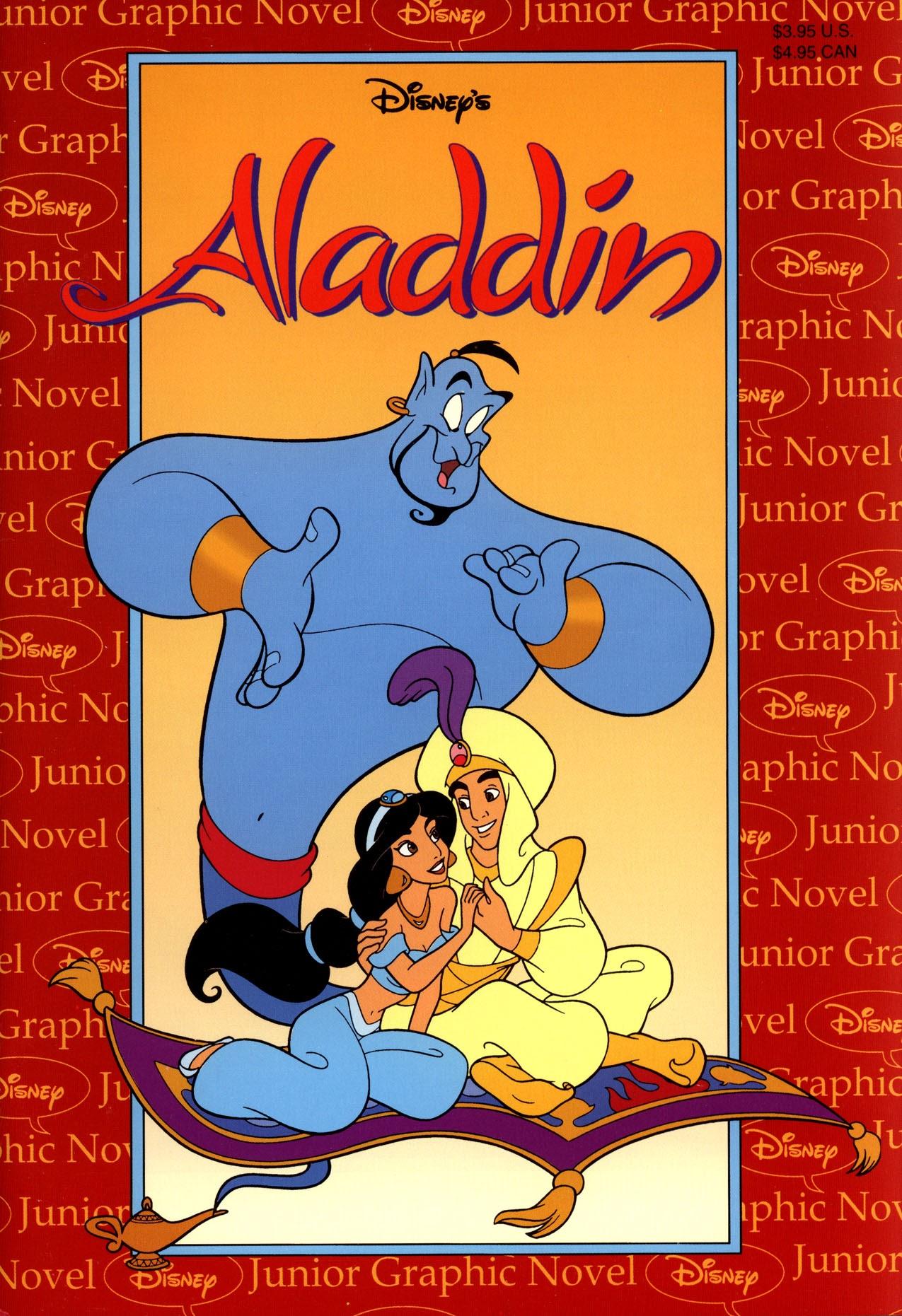 Disneys Junior Graphic Novel Aladdin issue Full - Page 1
