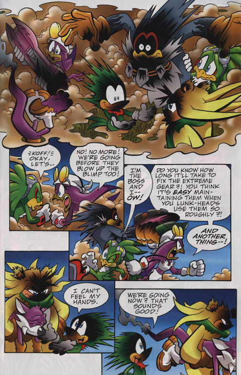 Read online Sonic Universe comic -  Issue #24 - 19