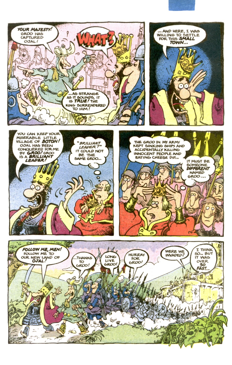 Read online Sergio Aragonés Groo the Wanderer comic -  Issue #1 - 19