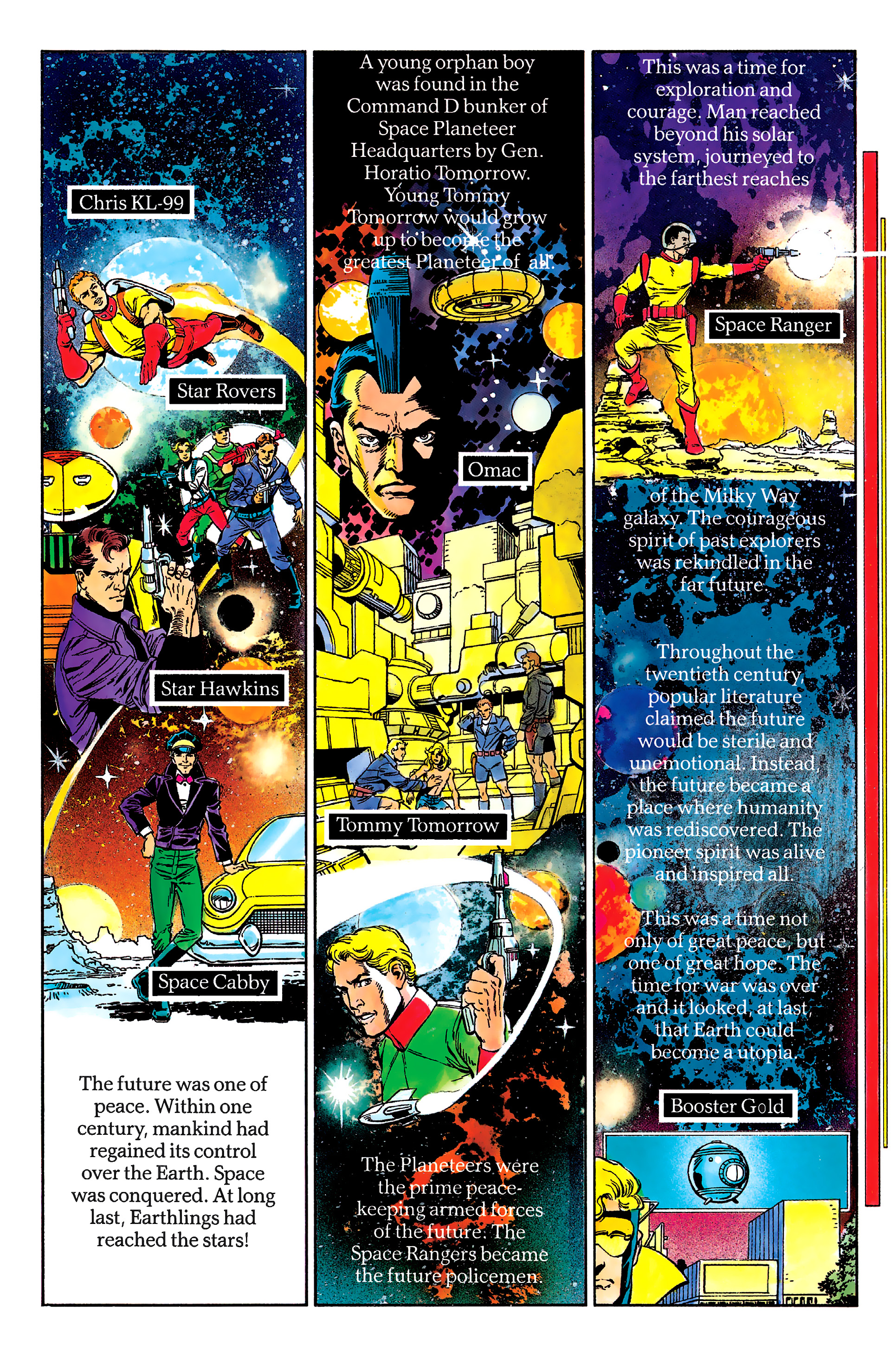Read online History of the DC Universe comic -  Issue #2 - 44