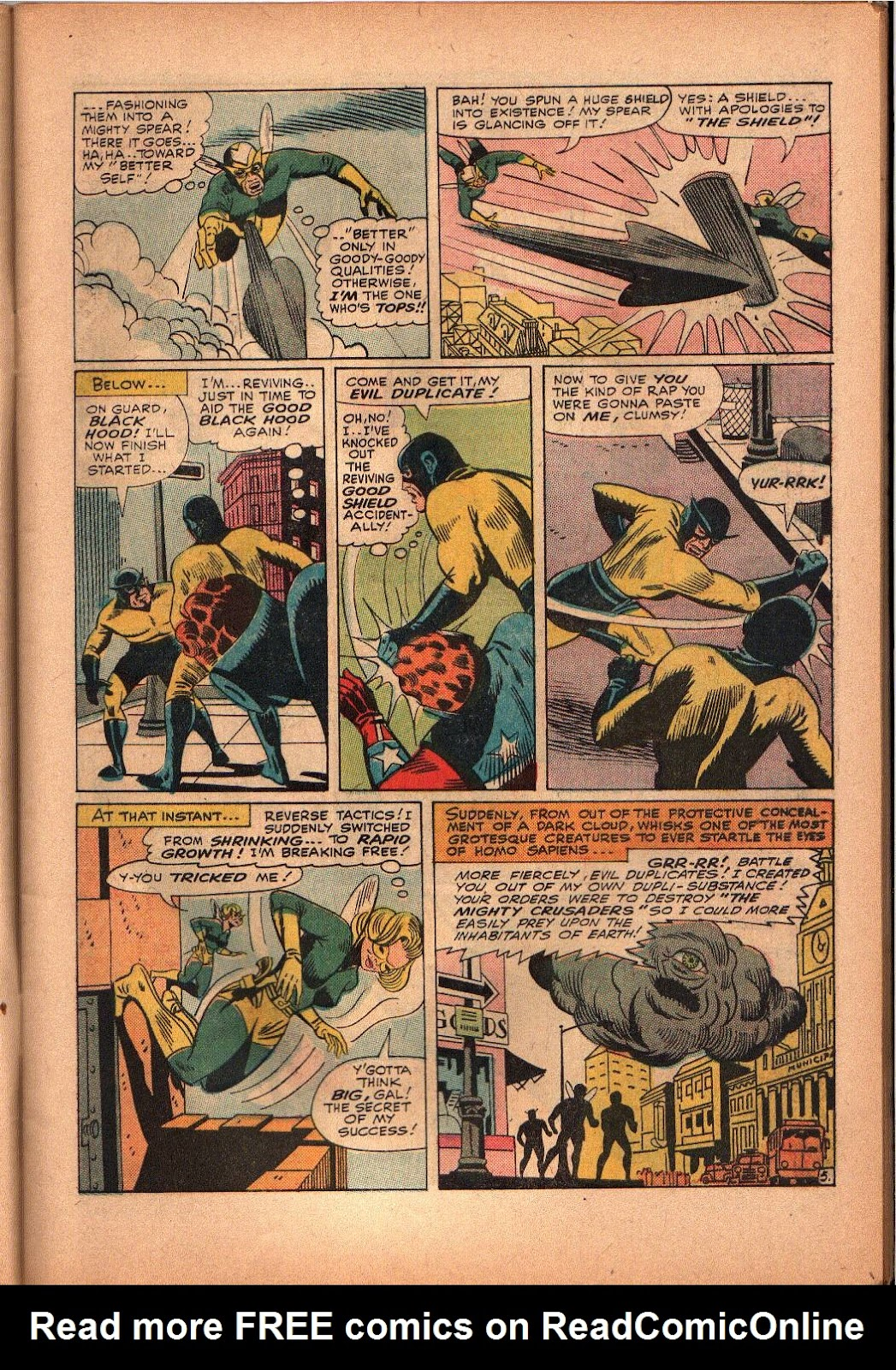 The Mighty Crusaders (1965) Issue #3 #3 - English 6