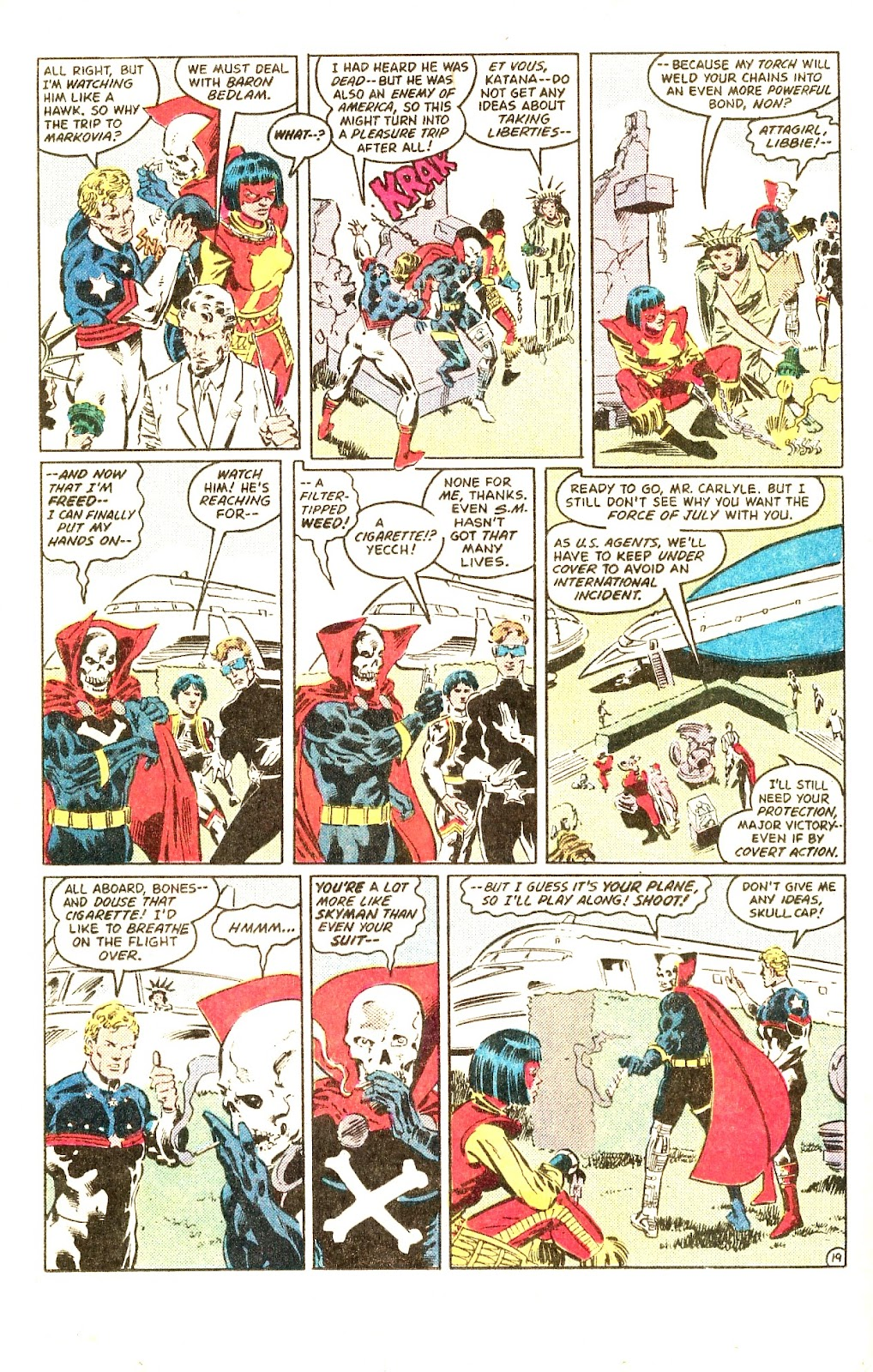 Infinity Inc. (1984) issue Special - Page 25
