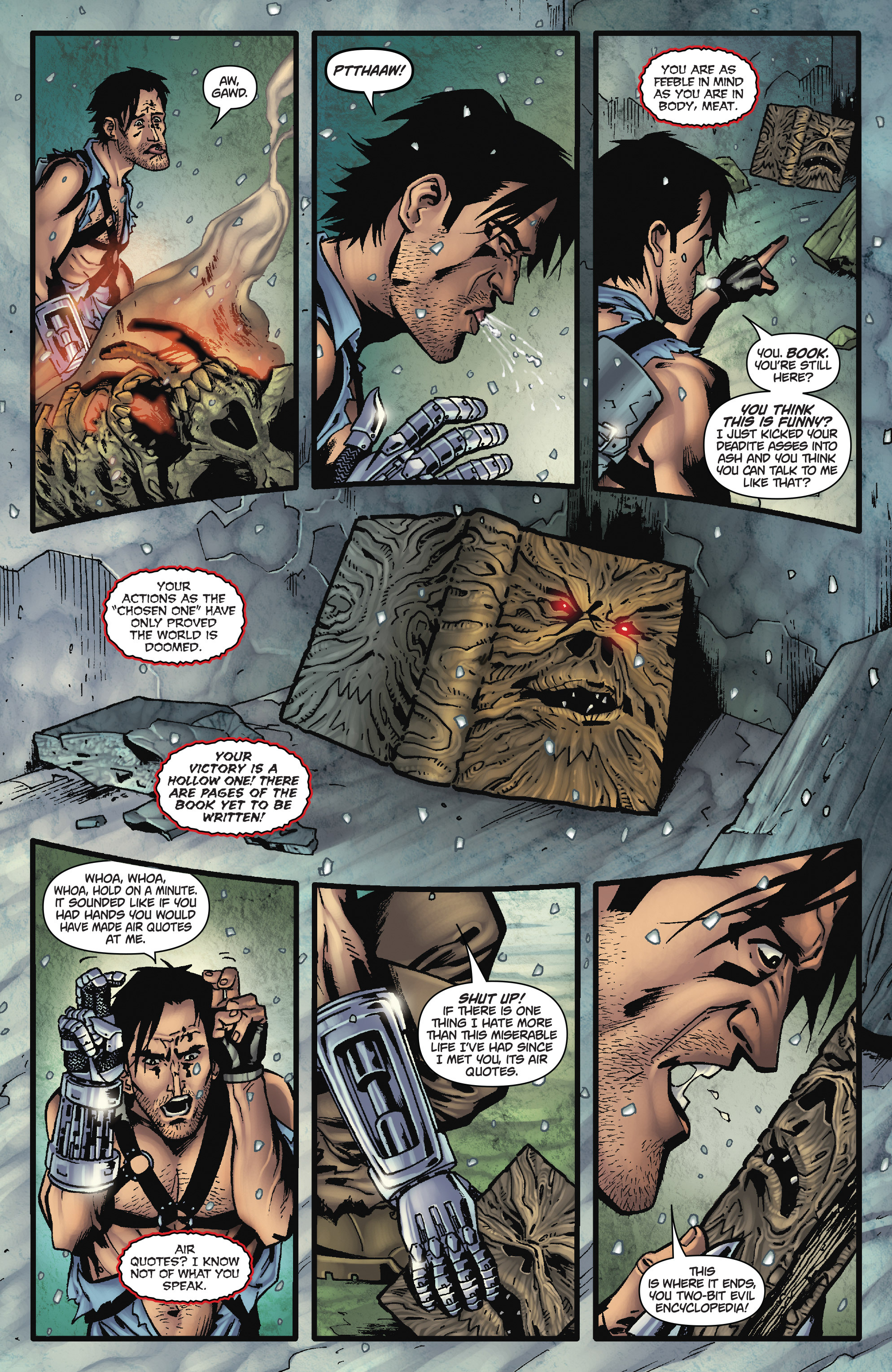 Read online Army of Darkness: The Long Road Home comic -  Issue #Army of Darkness: The Long Road Home TPB - 13