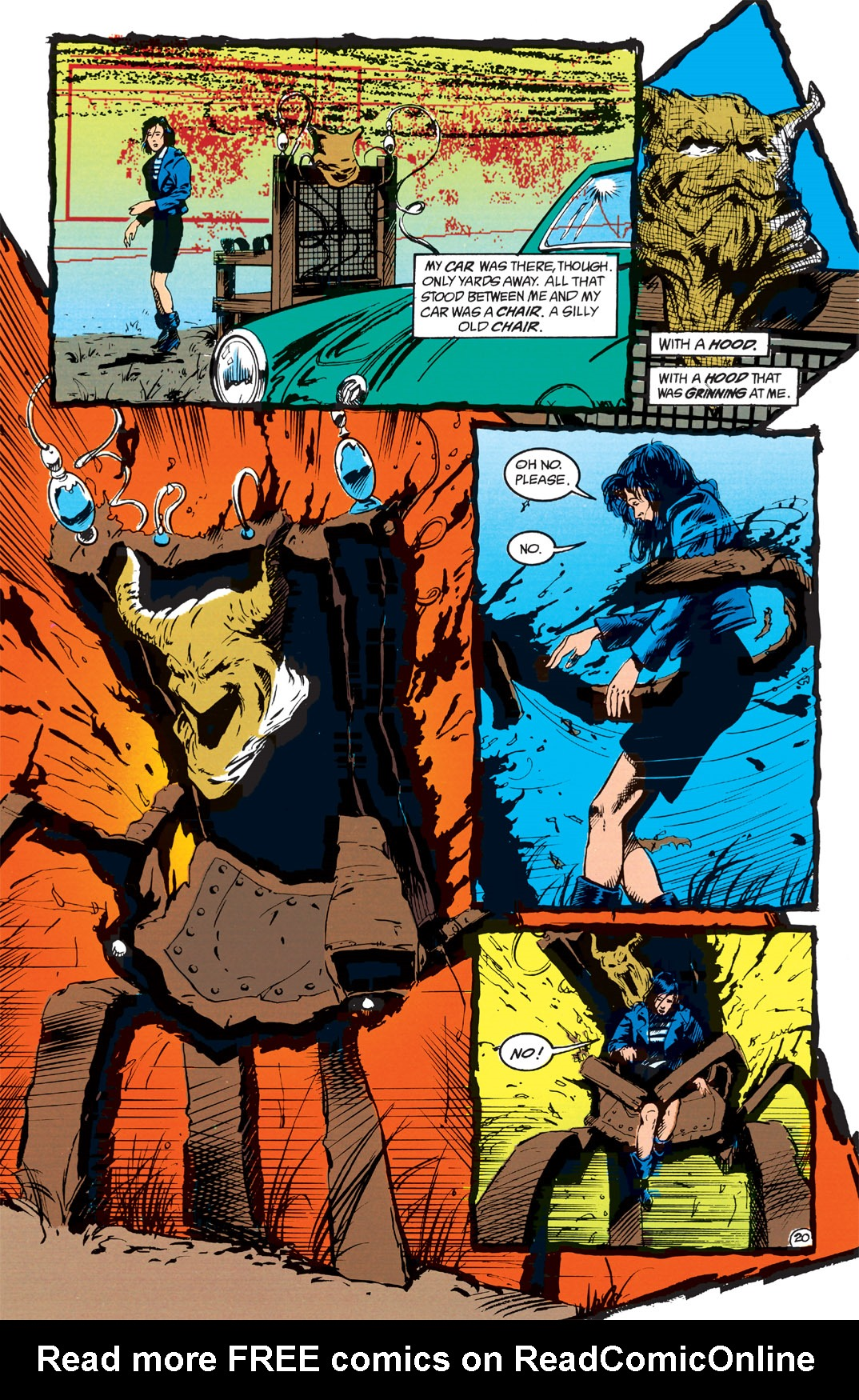 Read online Shade, the Changing Man comic -  Issue #1 - 22