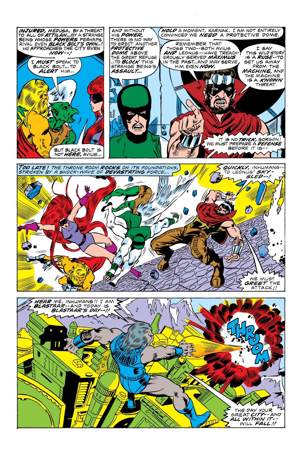 Read online Marvel Masterworks: The Inhumans comic -  Issue # TPB 2 (Part 1) - 22