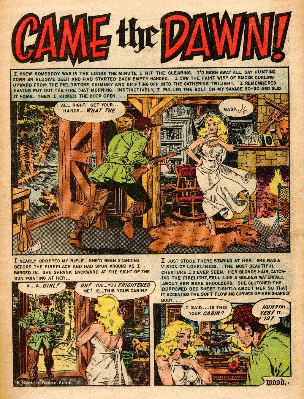 Read online Shock SuspenStories comic -  Issue #9 - 11