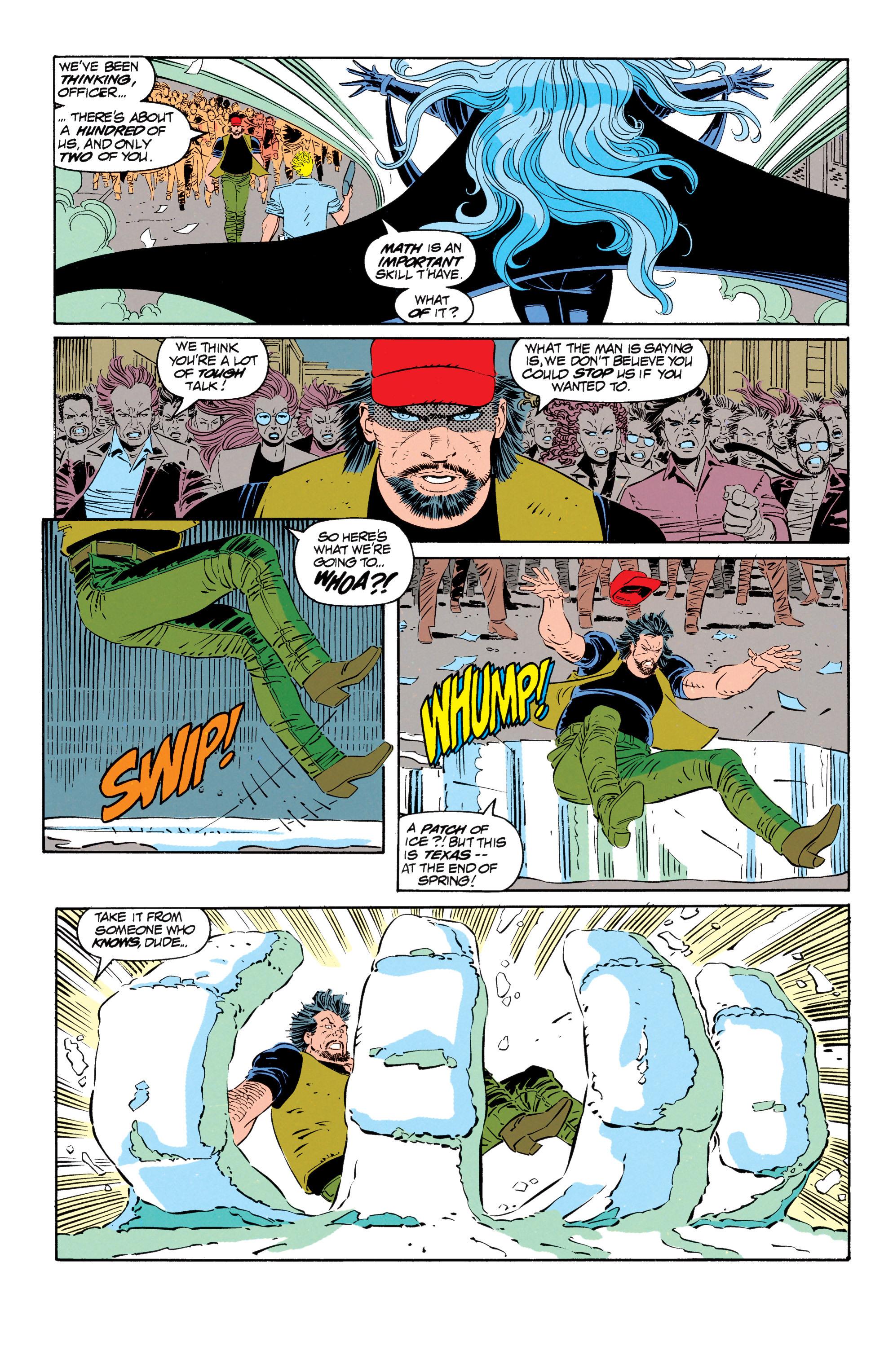 Read online Uncanny X-Men (1963) comic -  Issue #302 - 12