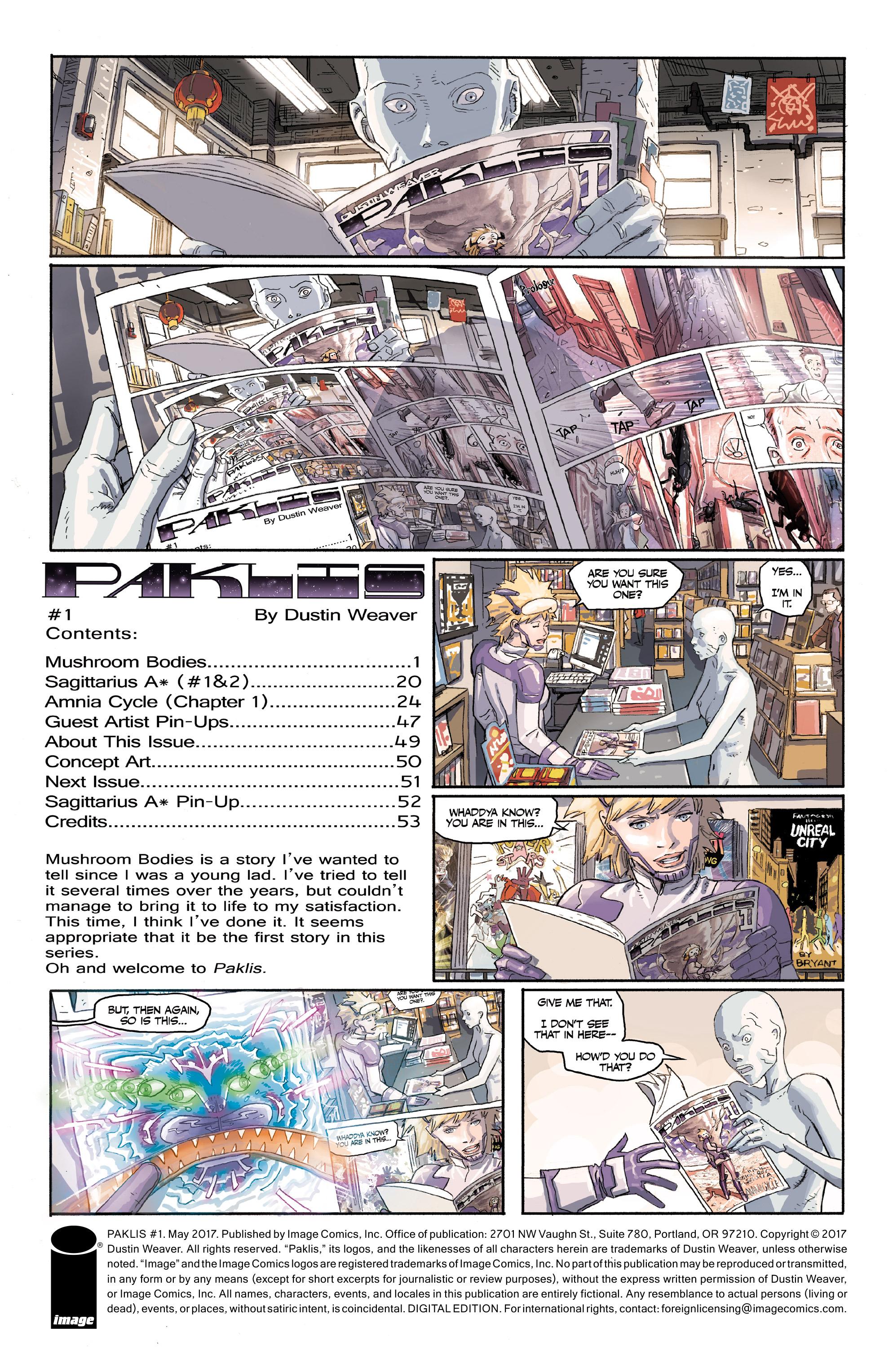 Read online Paklis comic -  Issue #1 - 2