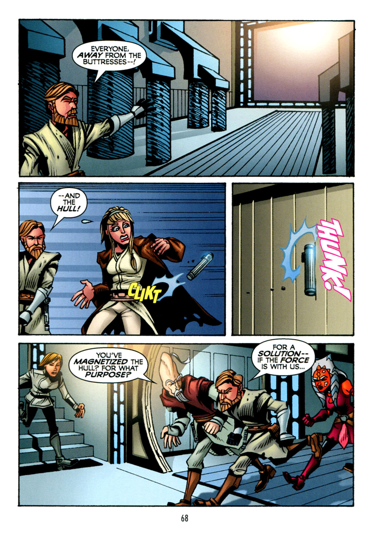 Read online Star Wars: The Clone Wars - The Starcrusher Trap comic -  Issue # Full - 69