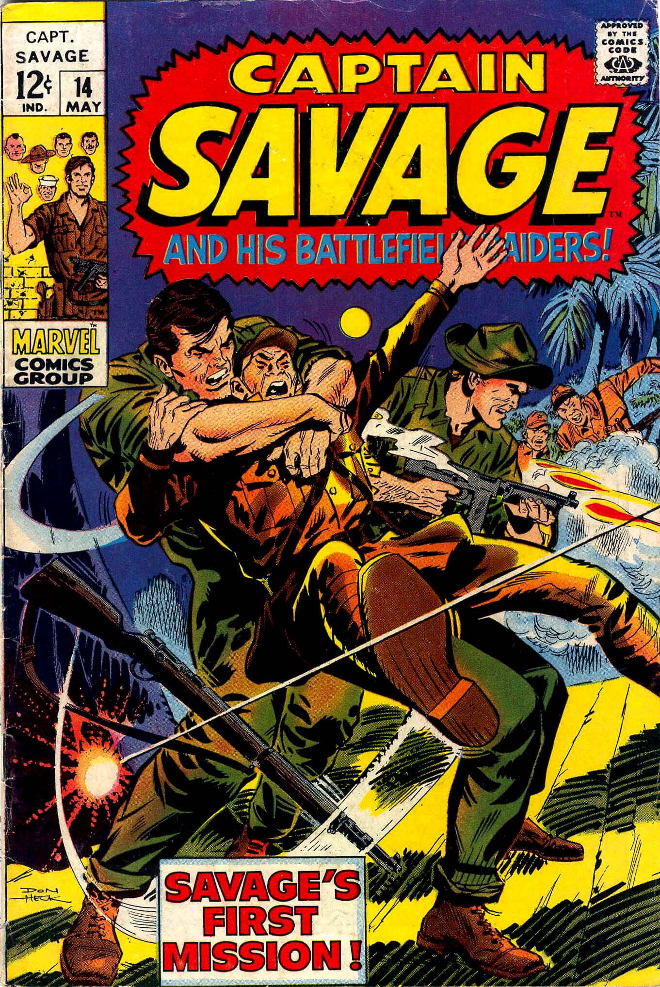 Captain Savage and his Leatherneck Raiders 14 Page 1