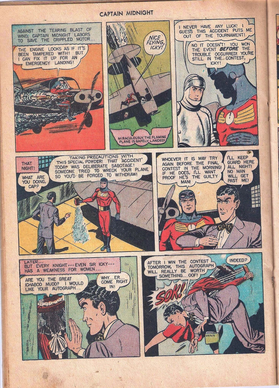 Captain Midnight (1942) issue 53 - Page 28